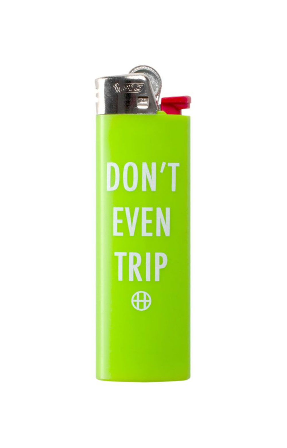 Don't Even Trip Lighter - Hot Lime