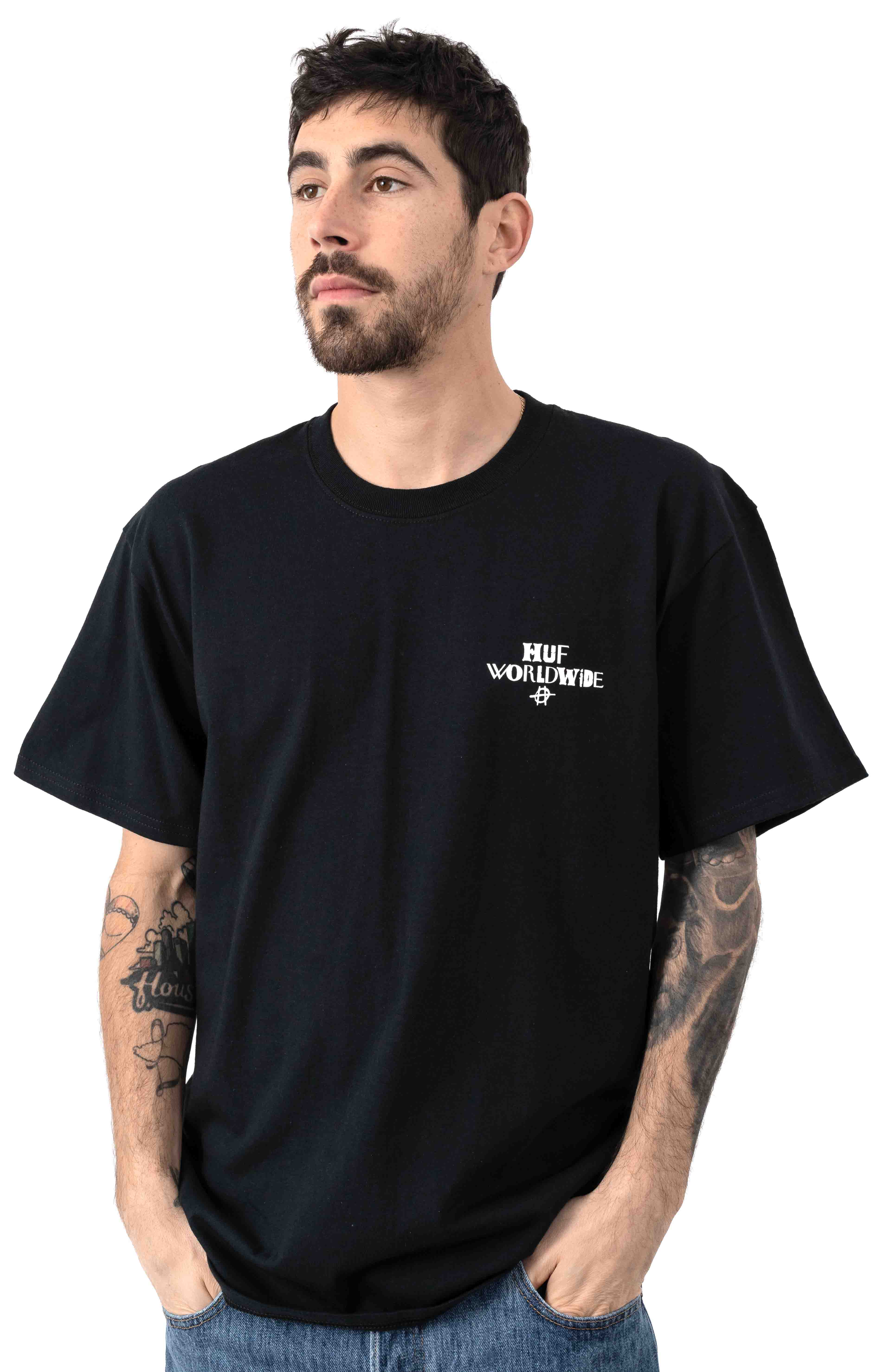 Hoods T-Shirt - Black 2