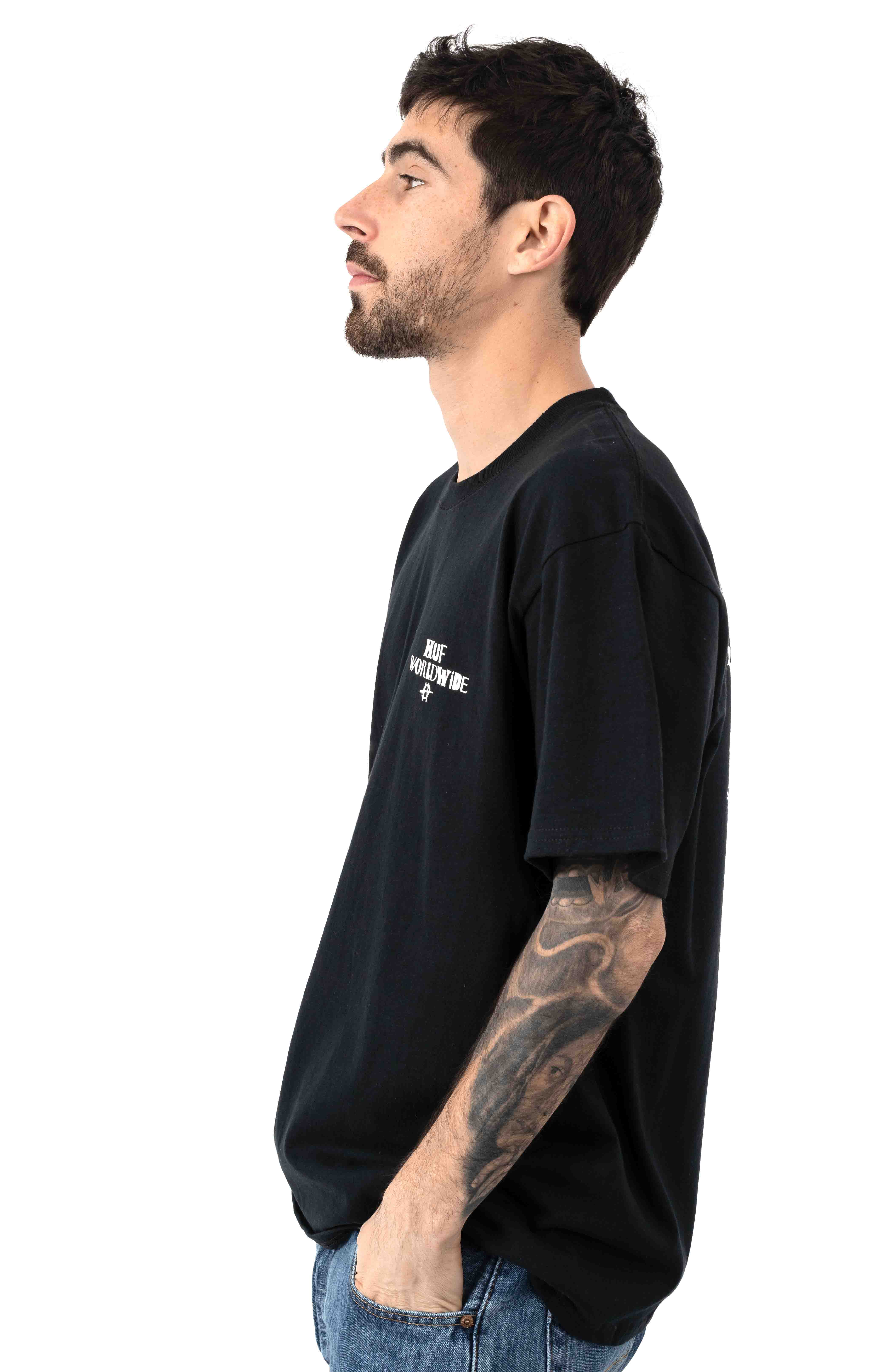 Hoods T-Shirt - Black 3