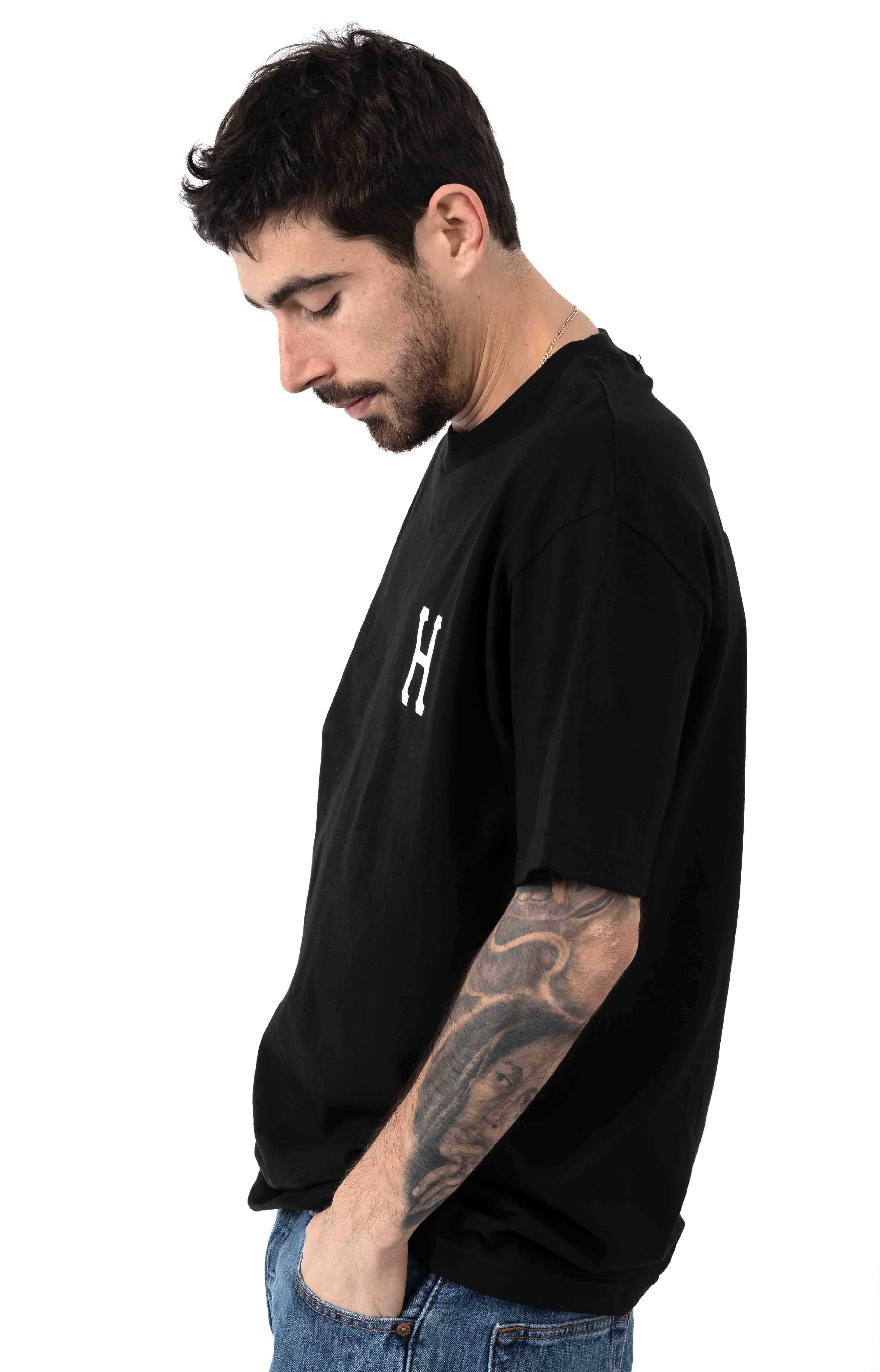 Essentials Classic H T-Shirt - Black 3