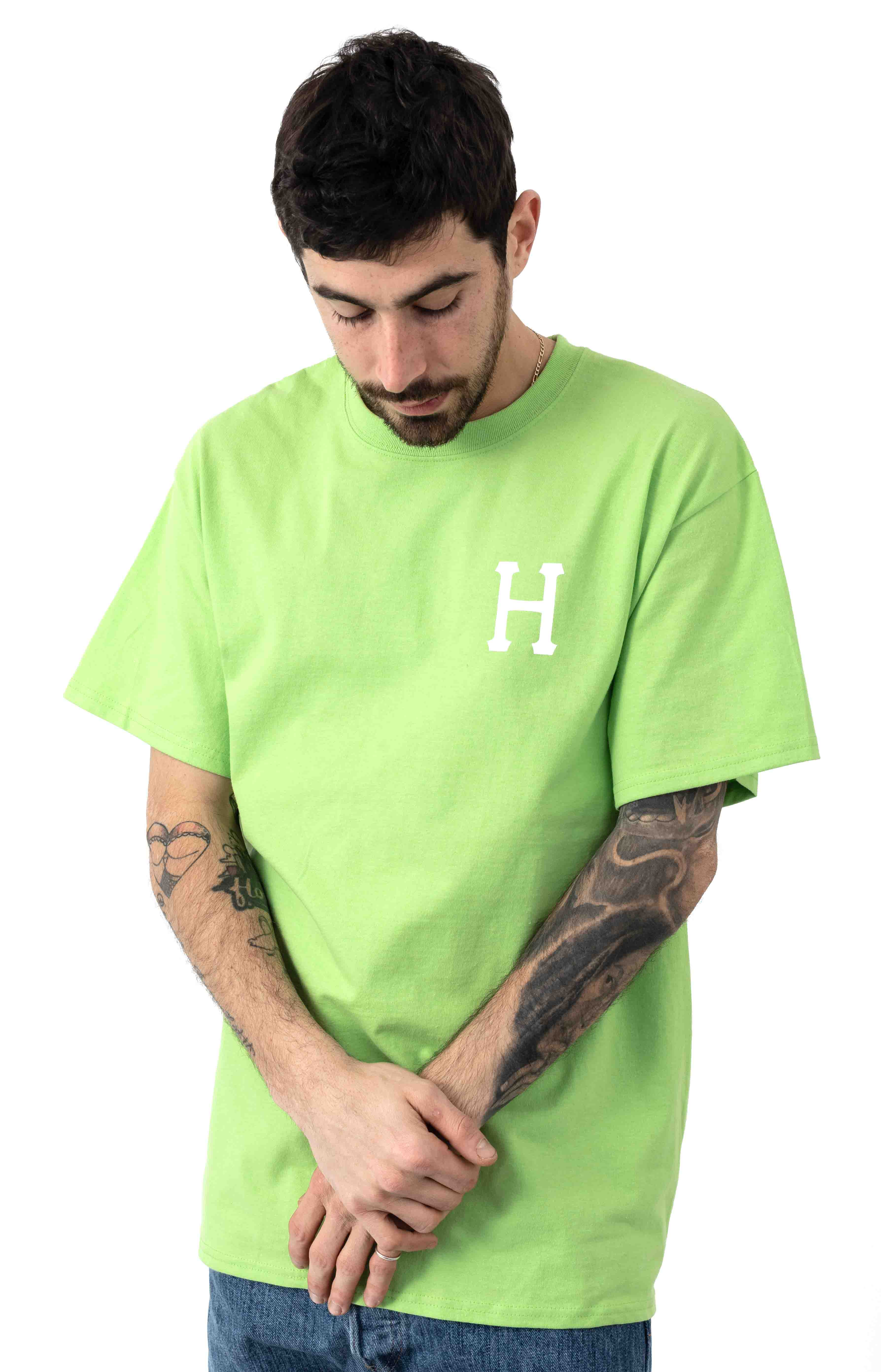 Essentials Classic H T-Shirt - Hot Lime 2
