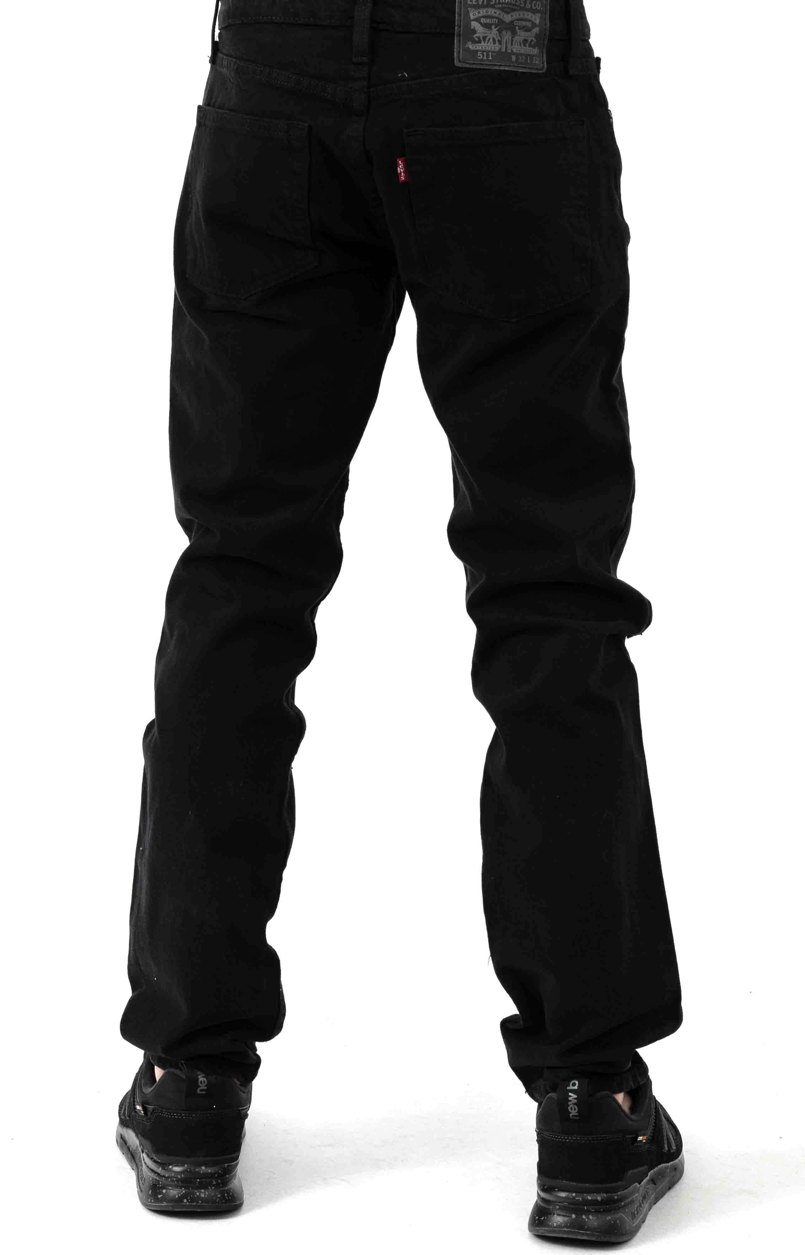 (4511-4481) 511 Slim Fit Jeans - Charred Marshmellow DY 3