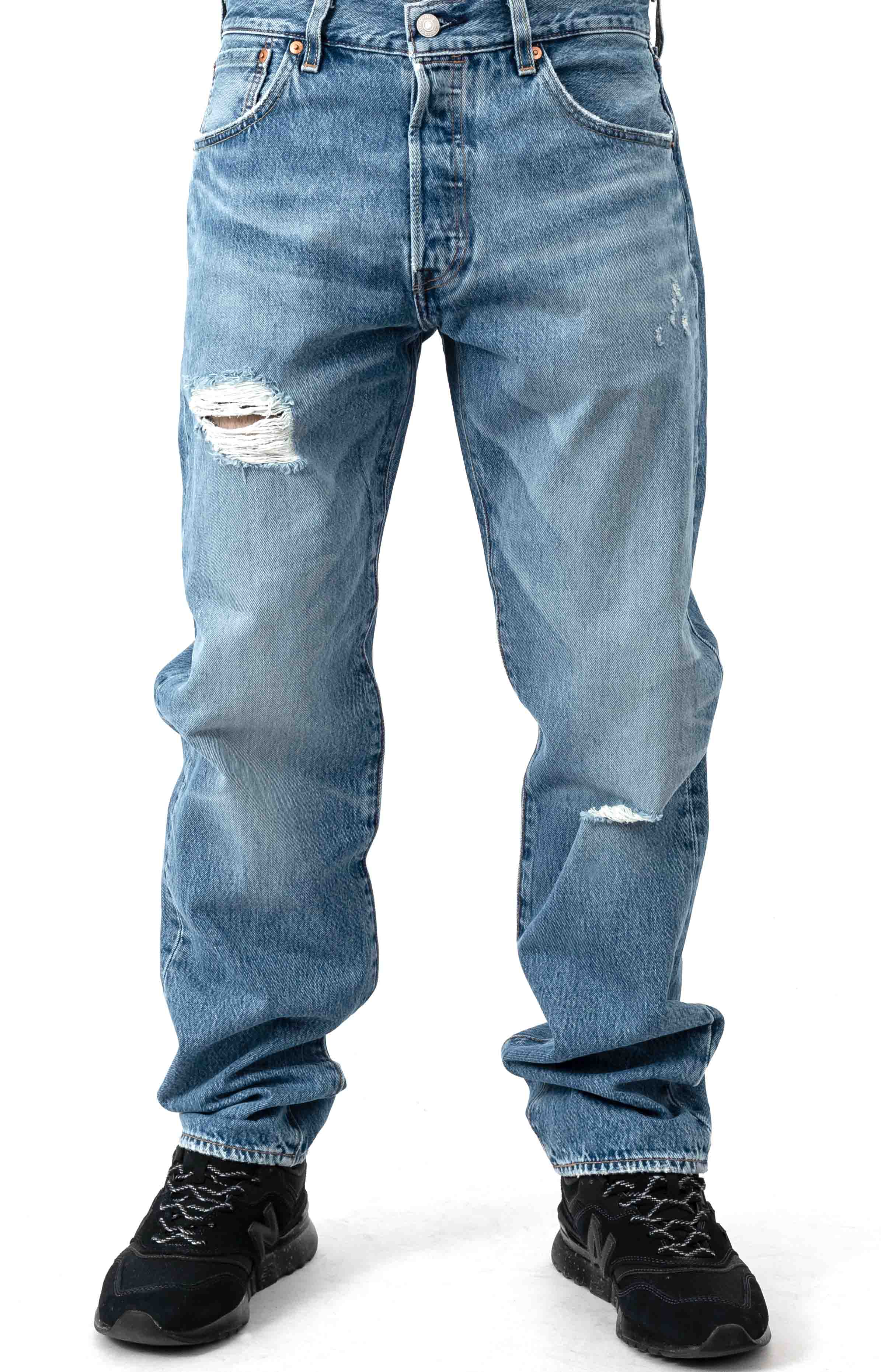 501 '93 Straight Jeans - Bike Medium Wash
