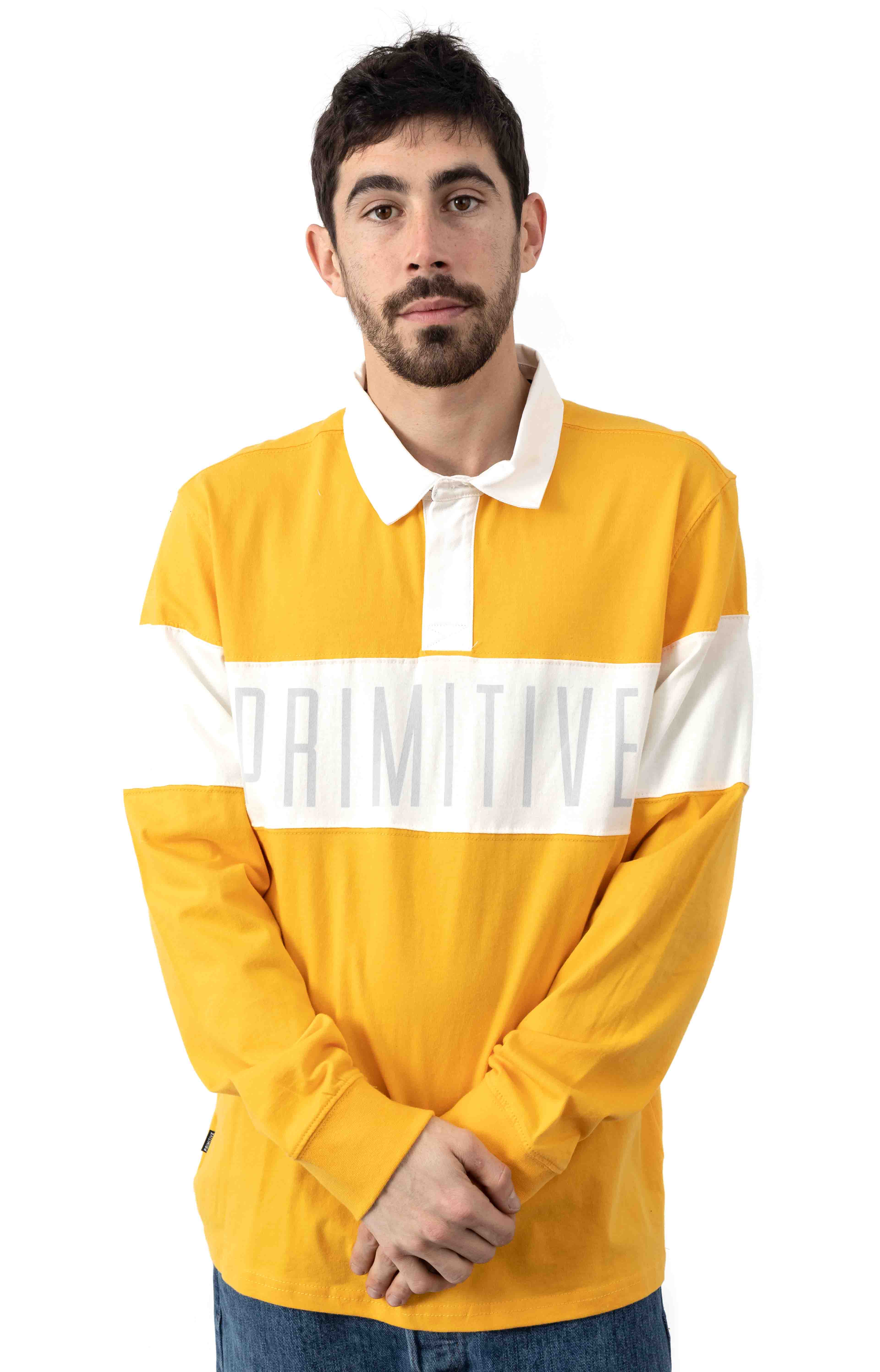 Springfield L/S Polo - Yellow