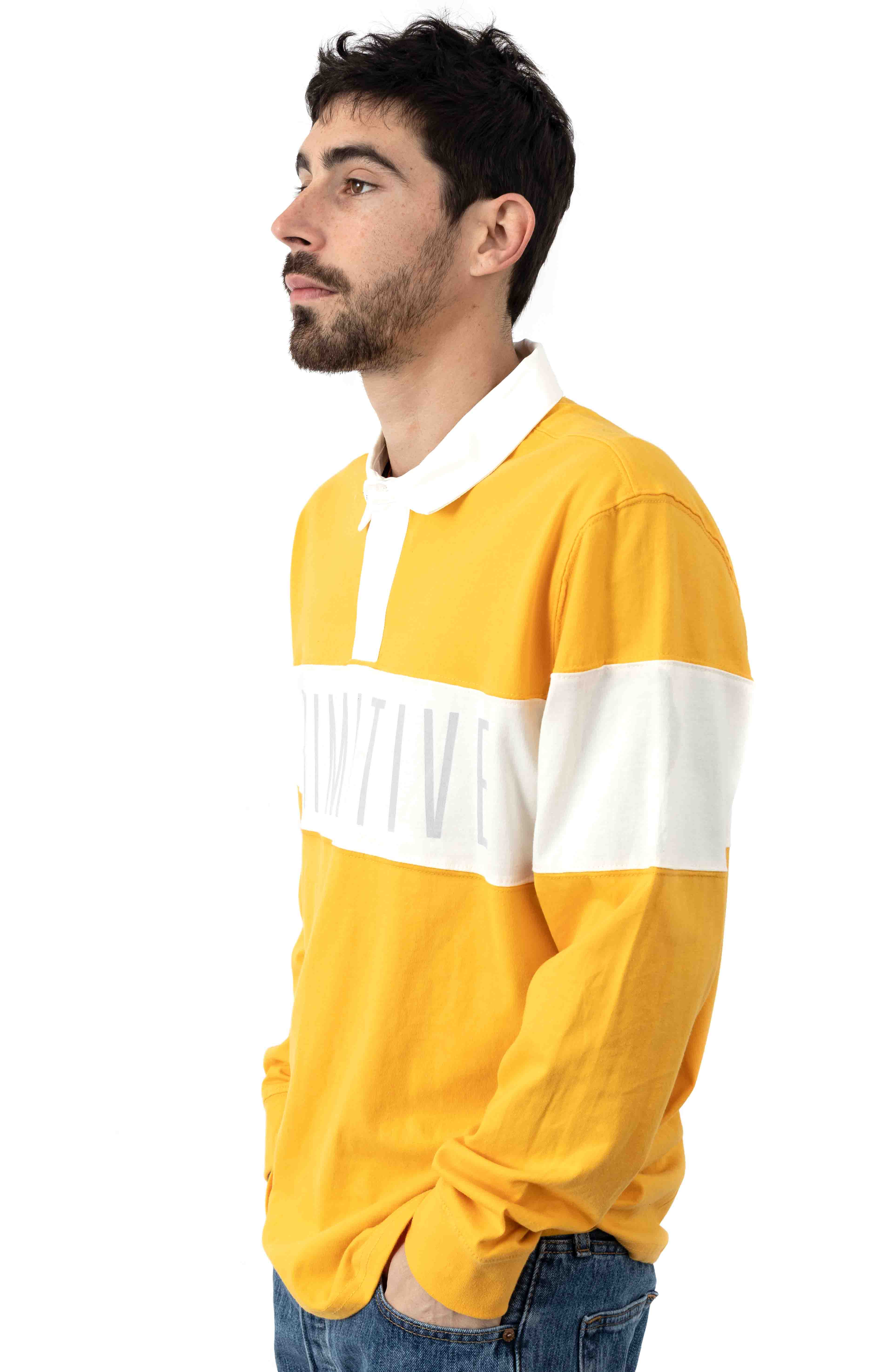 Springfield L/S Polo - Yellow  2