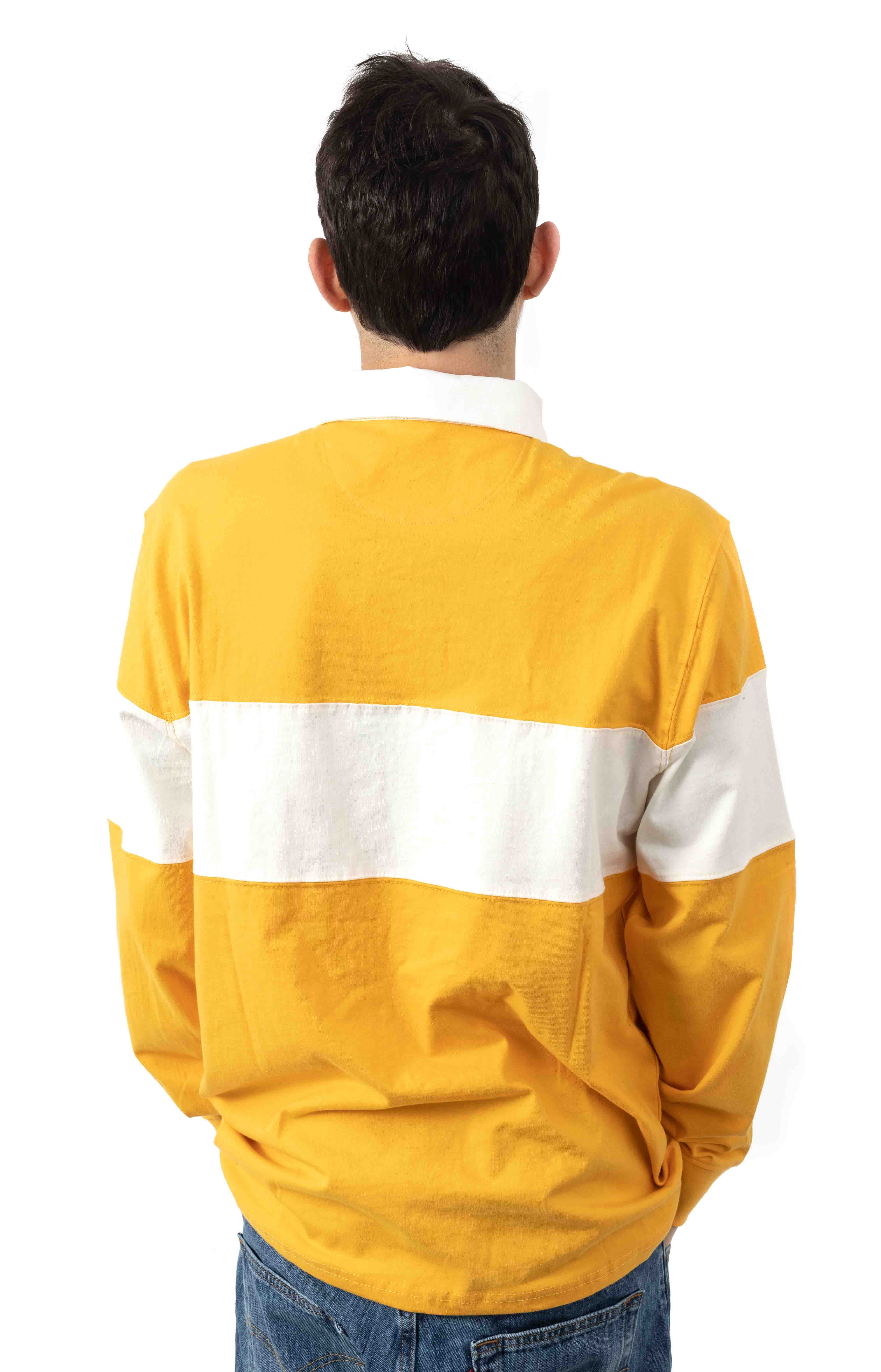 Springfield L/S Polo - Yellow  3