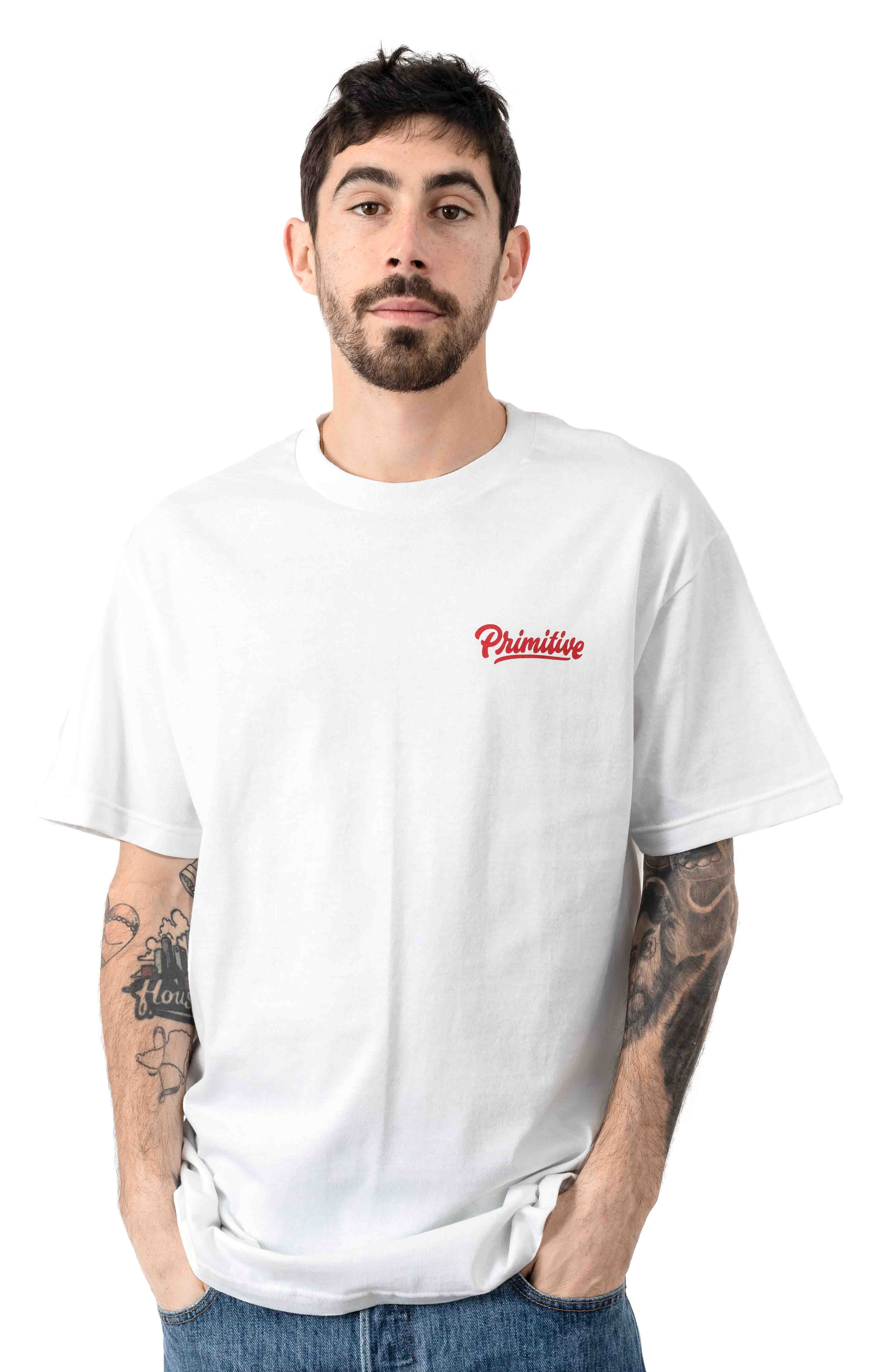 Native T-Shirt - White  2