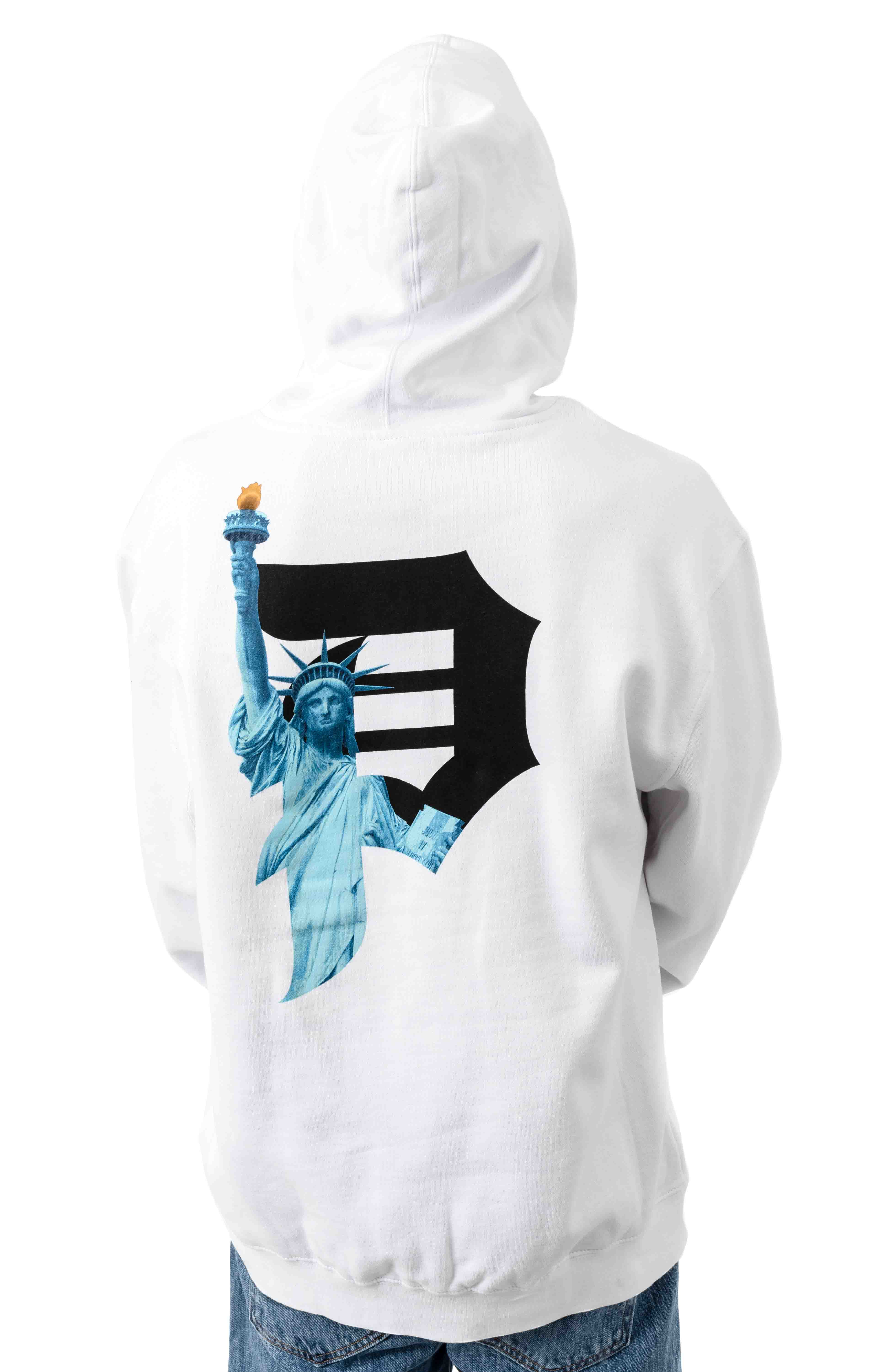 Beacon Pullover Hoodie - White  3
