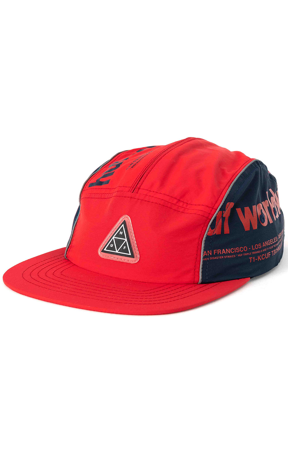Conceal Pocket Volley Hat - Mandarin Red