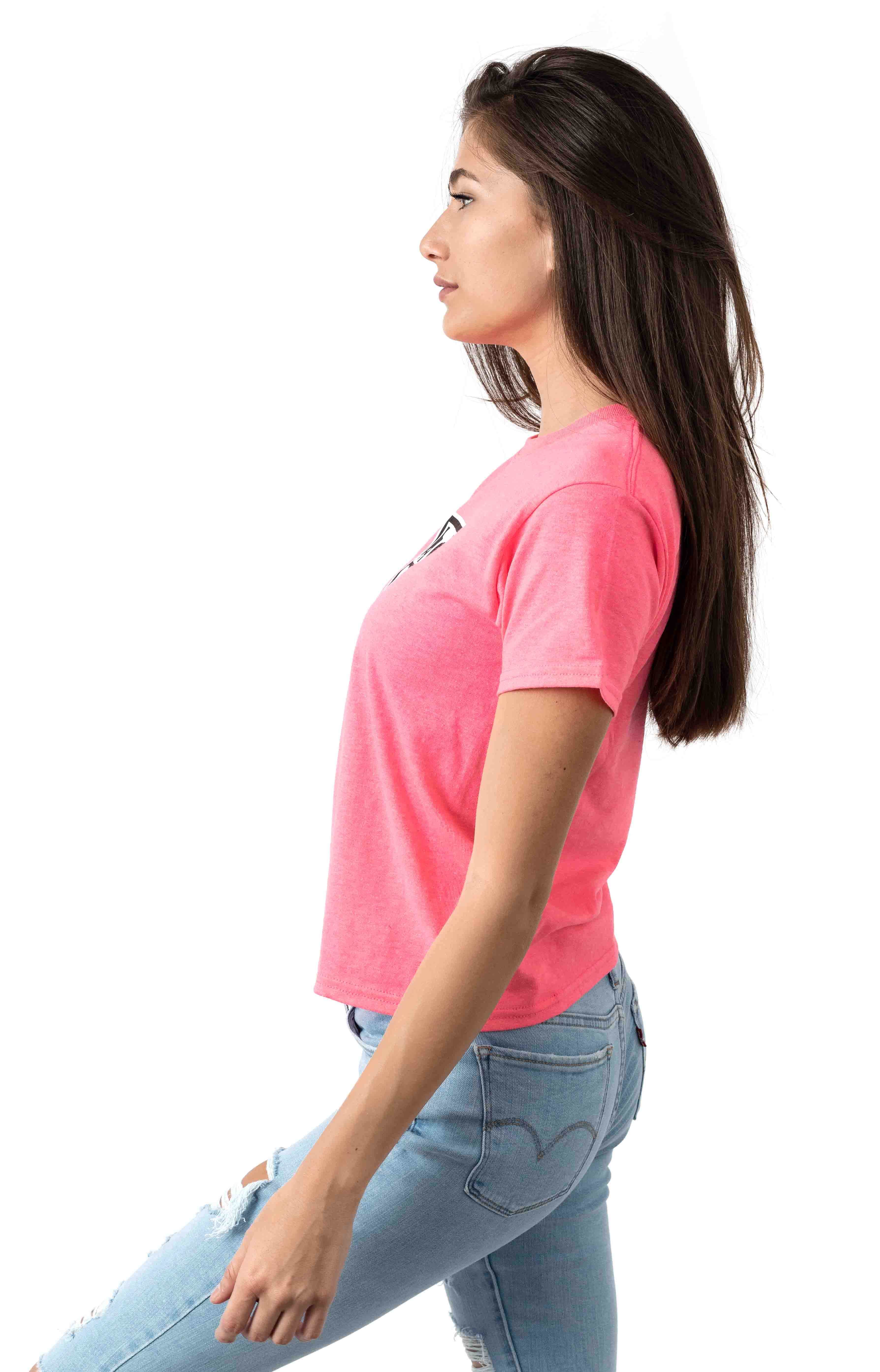 Eyes Icon T-Shirt - Safety Pink  2