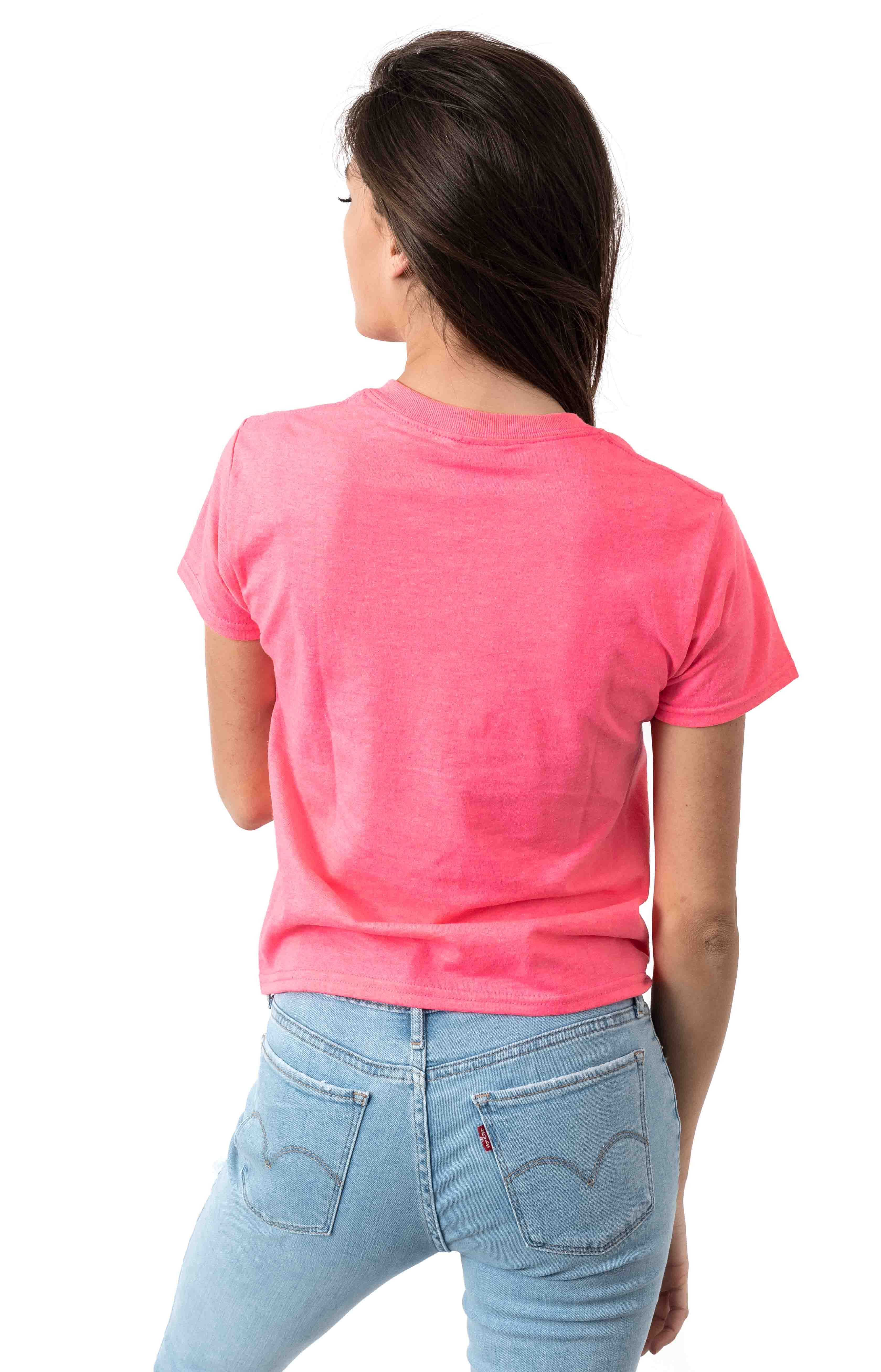 Eyes Icon T-Shirt - Safety Pink  3