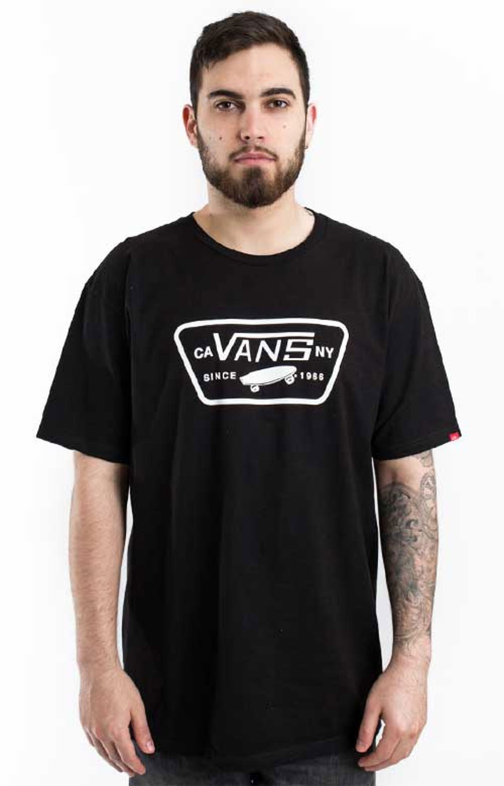 Full Patch T-Shirt - Black/White