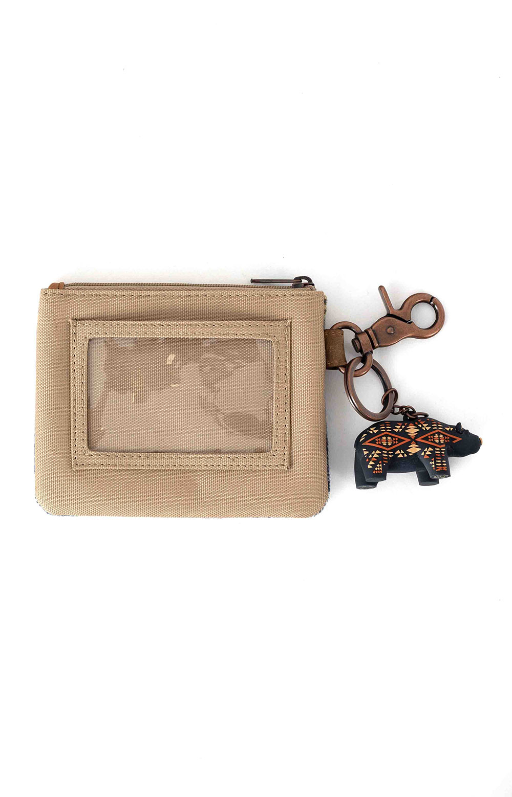 ID Pouch with Bear Keychain - Crescent Bay 2