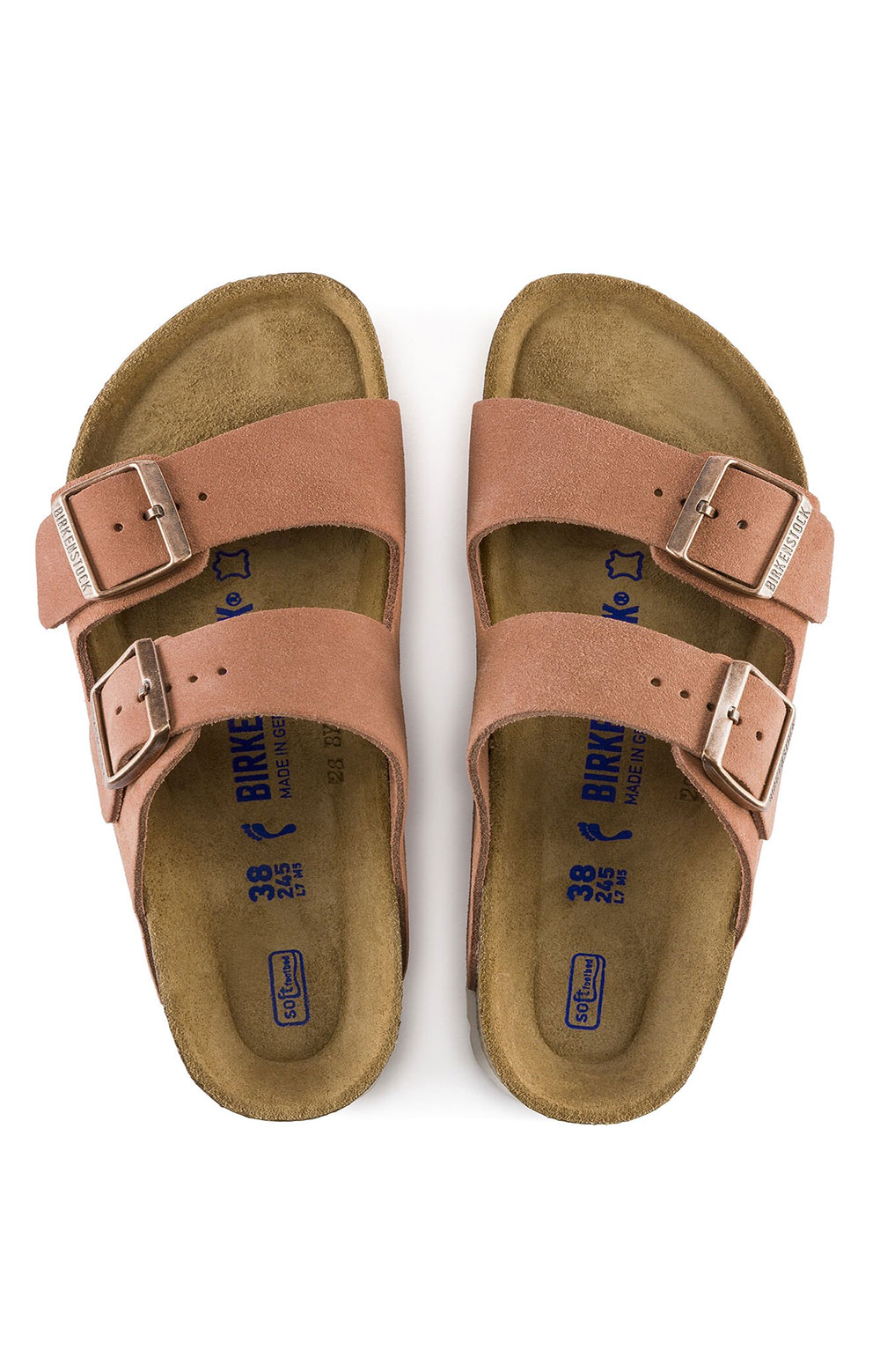 Arizona Soft Footbed Sandals - Earth Red 4