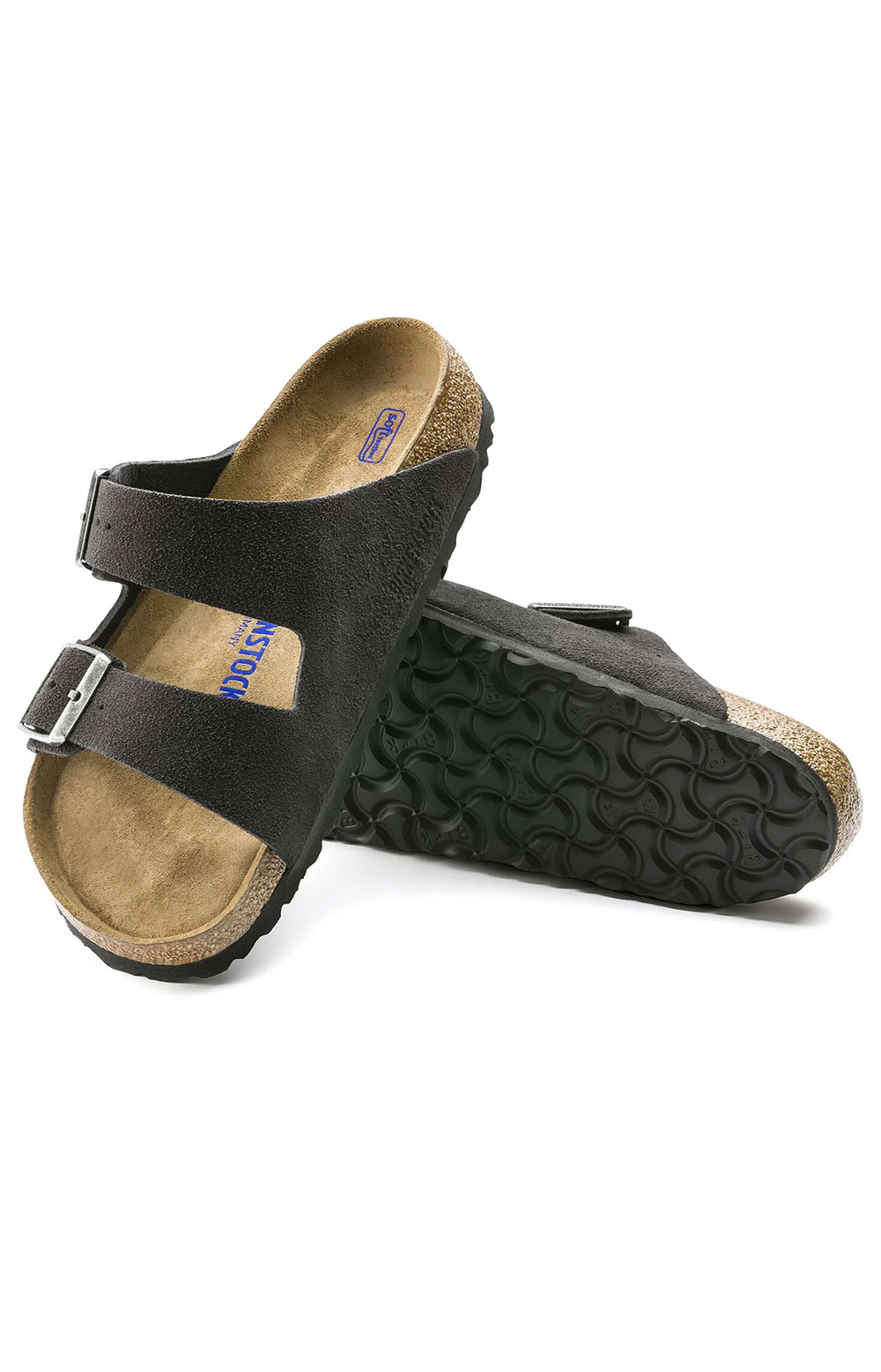 (0552321) Arizona Sandals - Velvet Grey  3