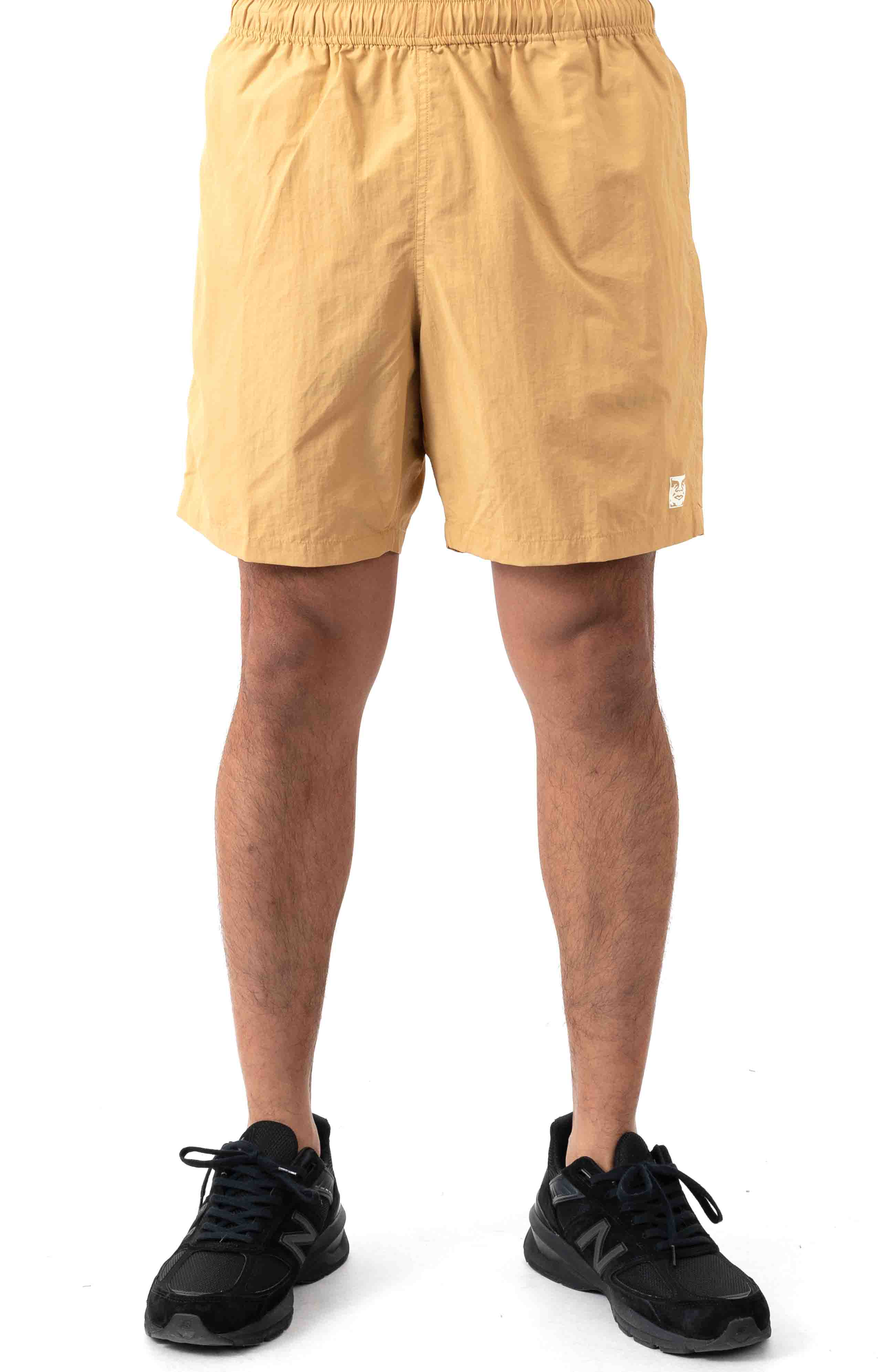Easy Relaxed Short - Almond  2