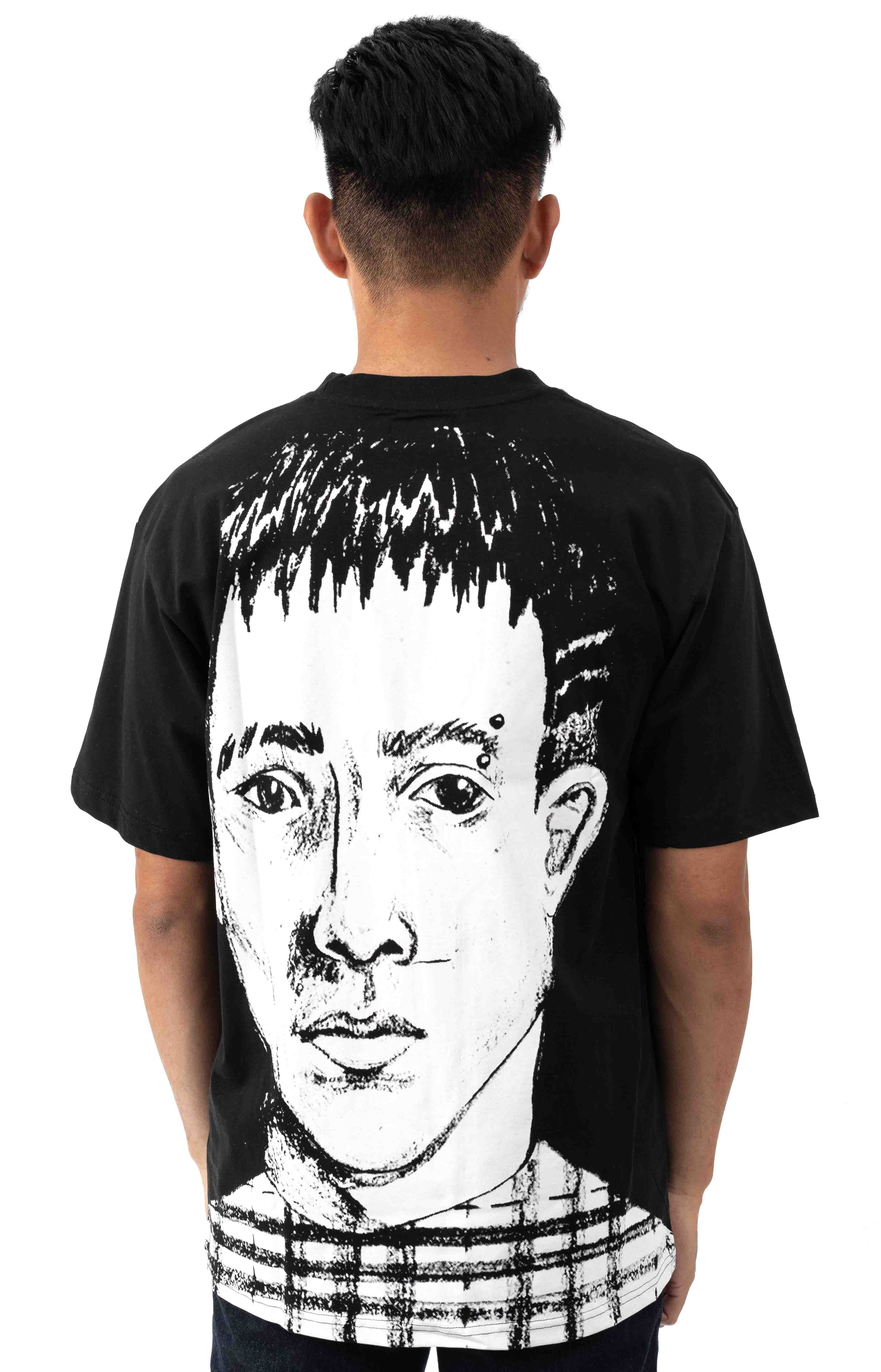 Face T-Shirt - Black 3
