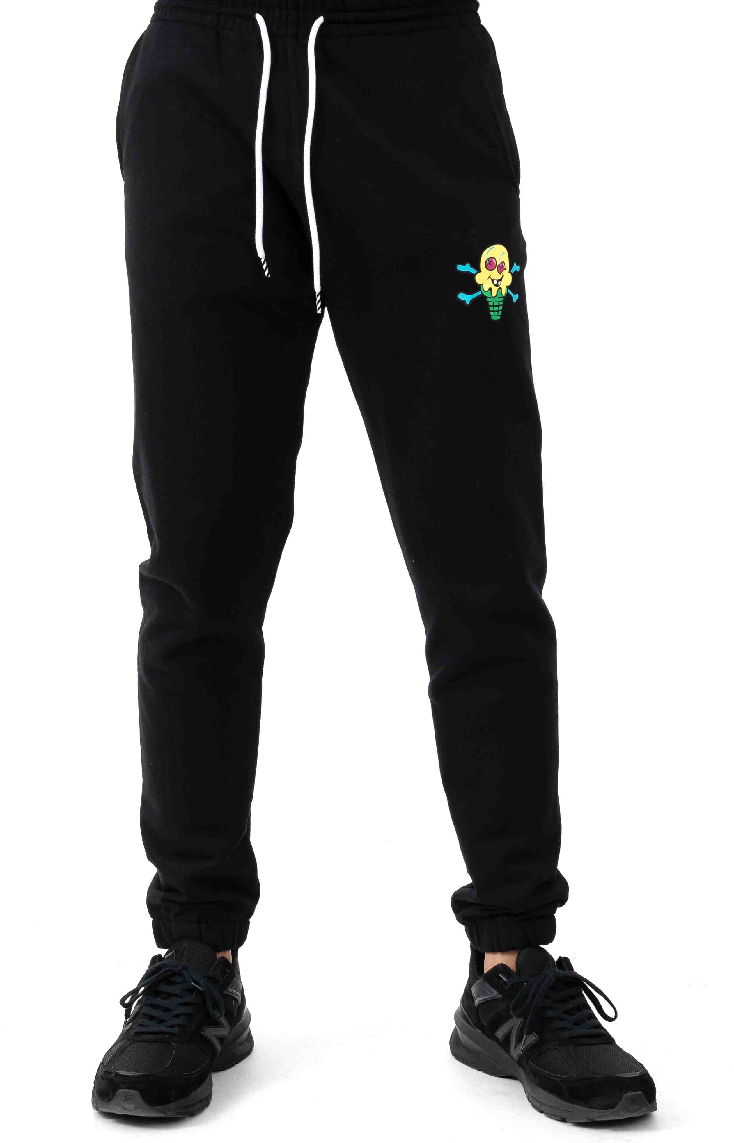 Cherry Sweatpant - Black