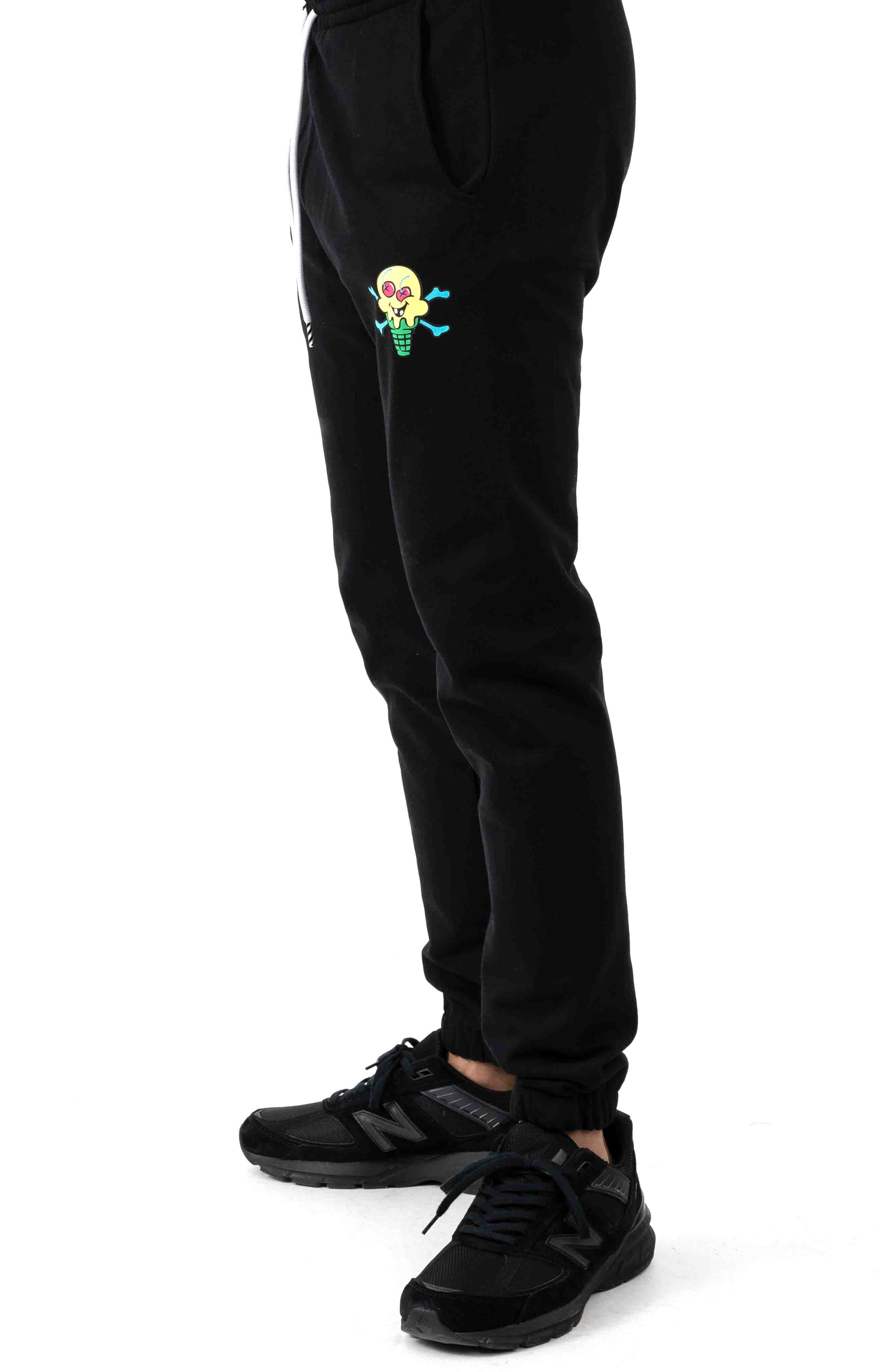 Cherry Sweatpant - Black 2