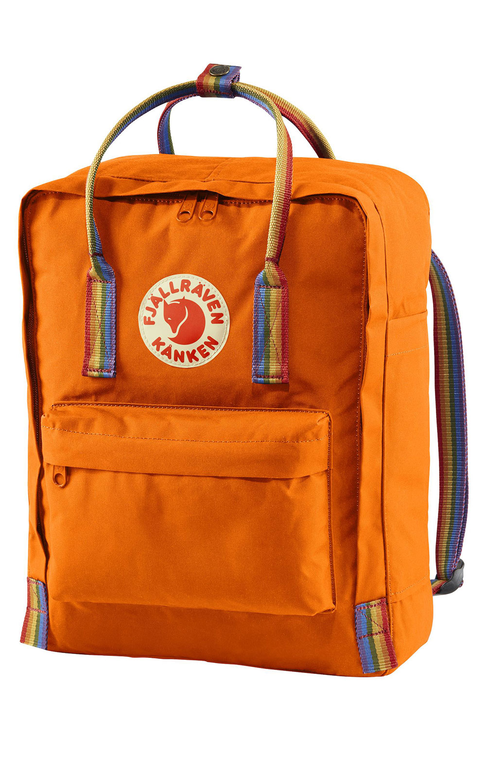 Kanken Rainbow Backpack - Burnt Rainbow/Rainbow Pattern 2