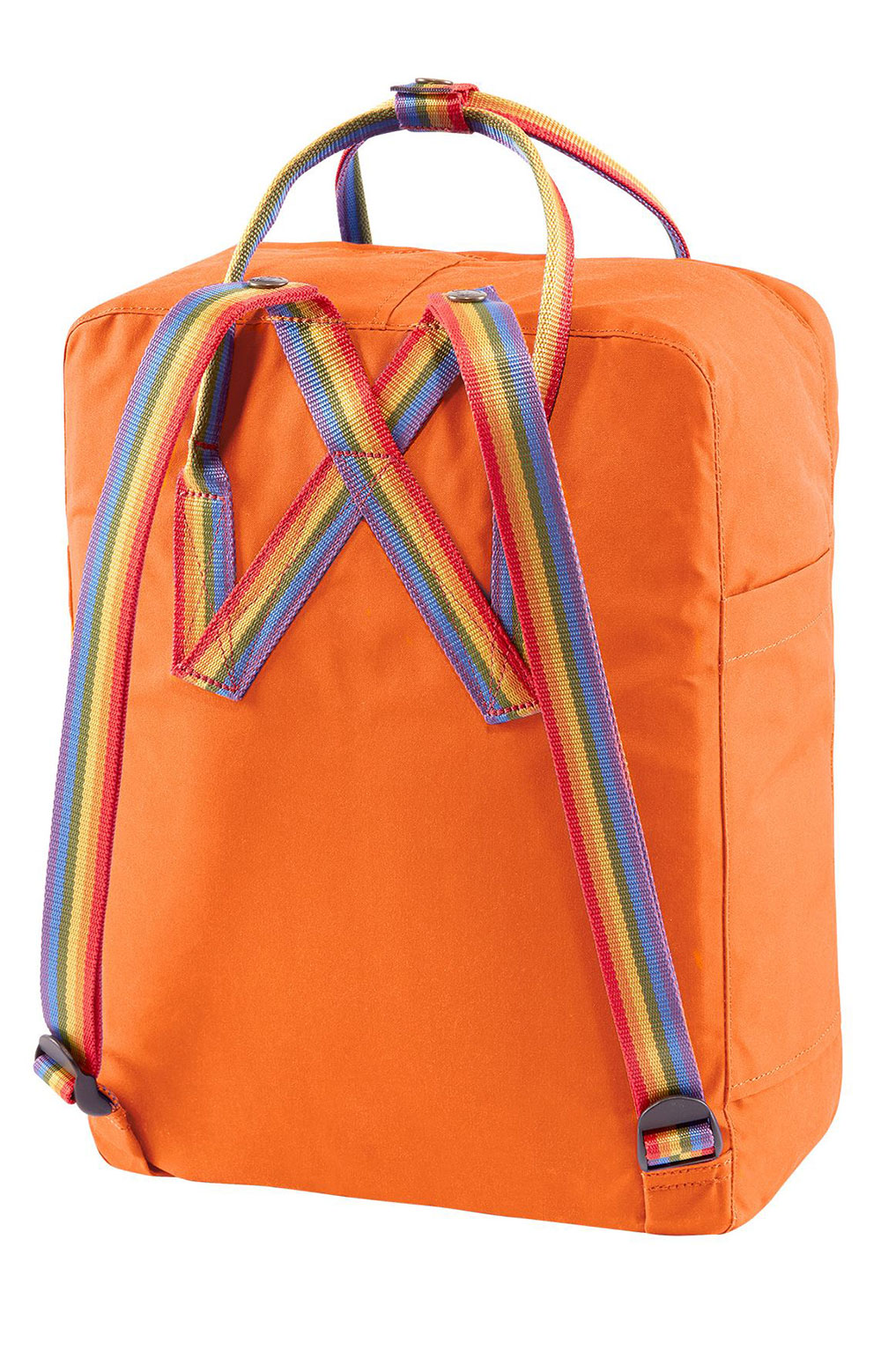 Kanken Rainbow Backpack - Burnt Rainbow/Rainbow Pattern 3
