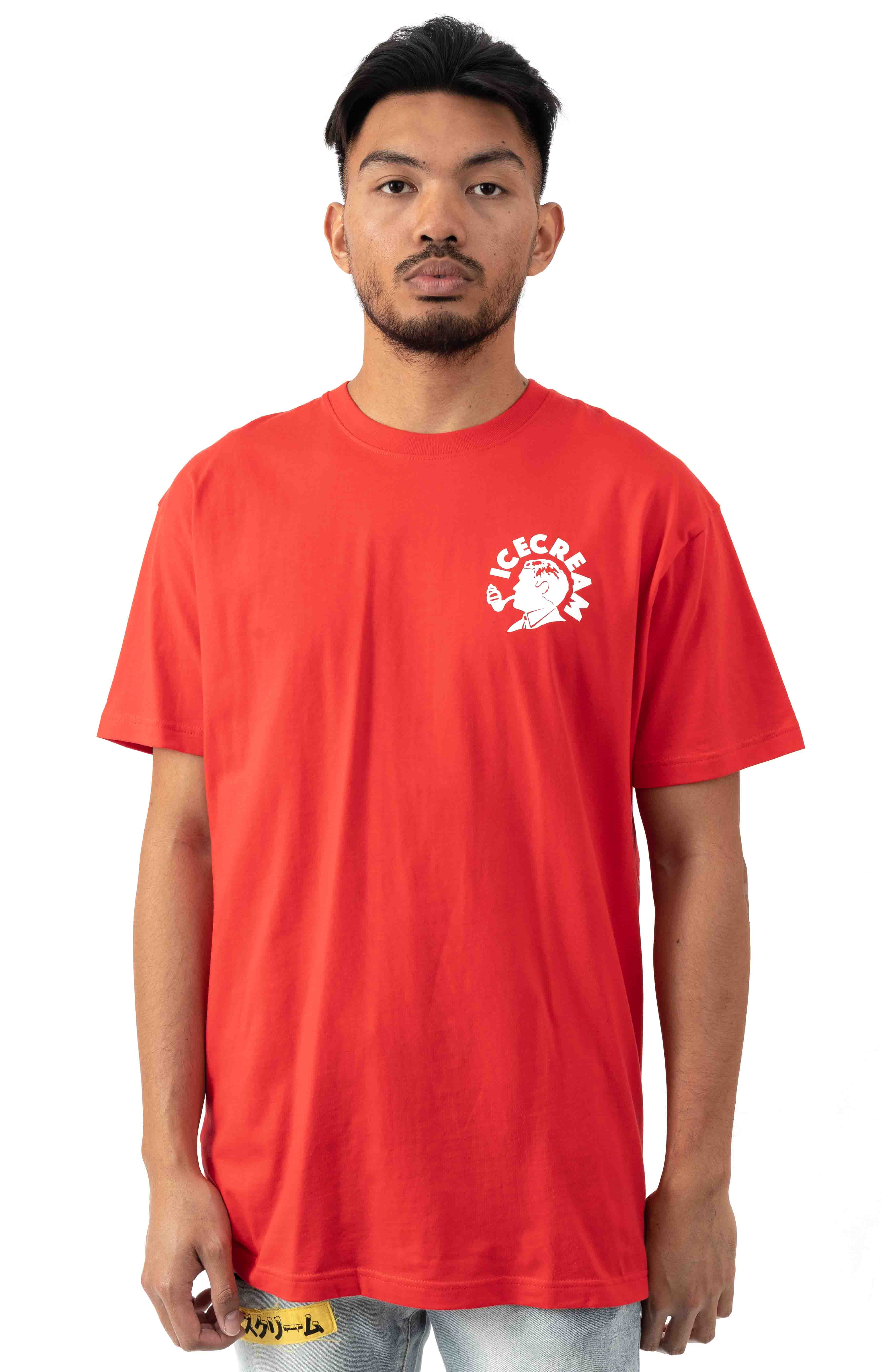 Put That In Your Pipe T-Shirt - Tomato 2