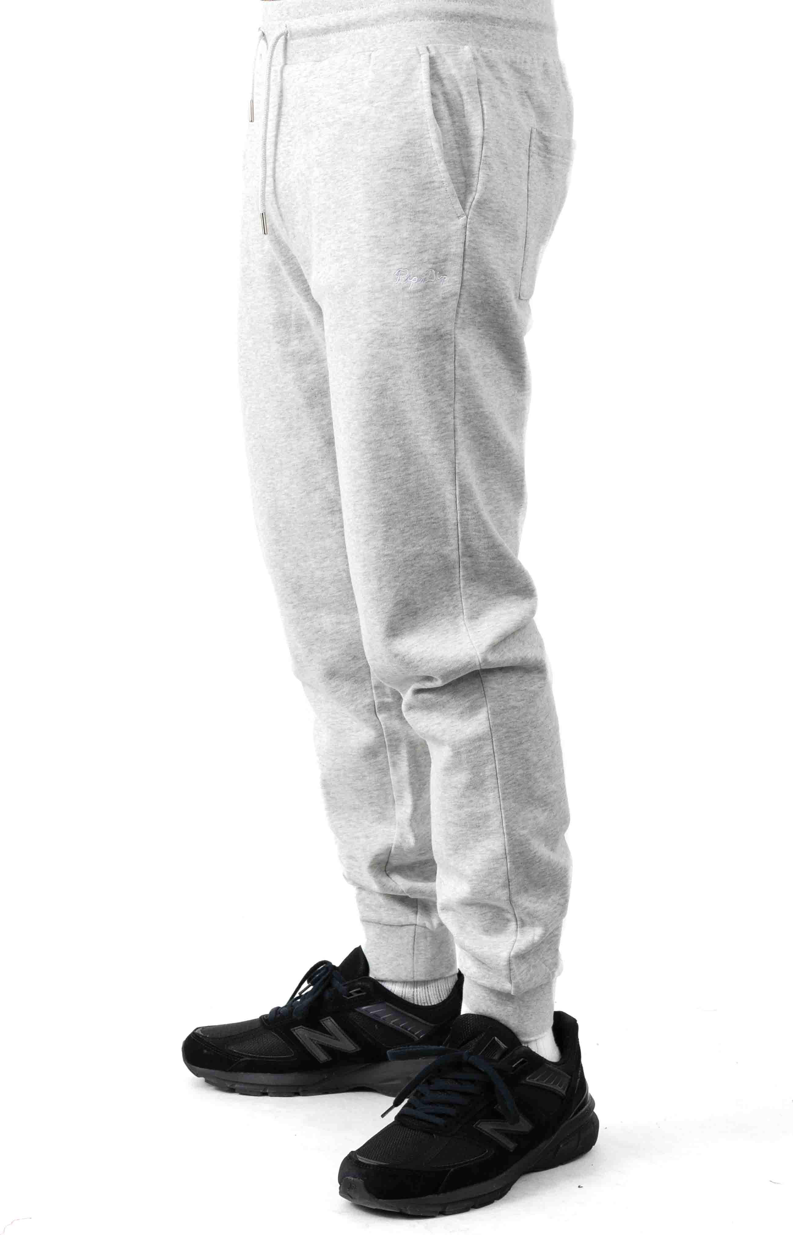 Peeking Nerm Sweatpants - Heather Grey  3