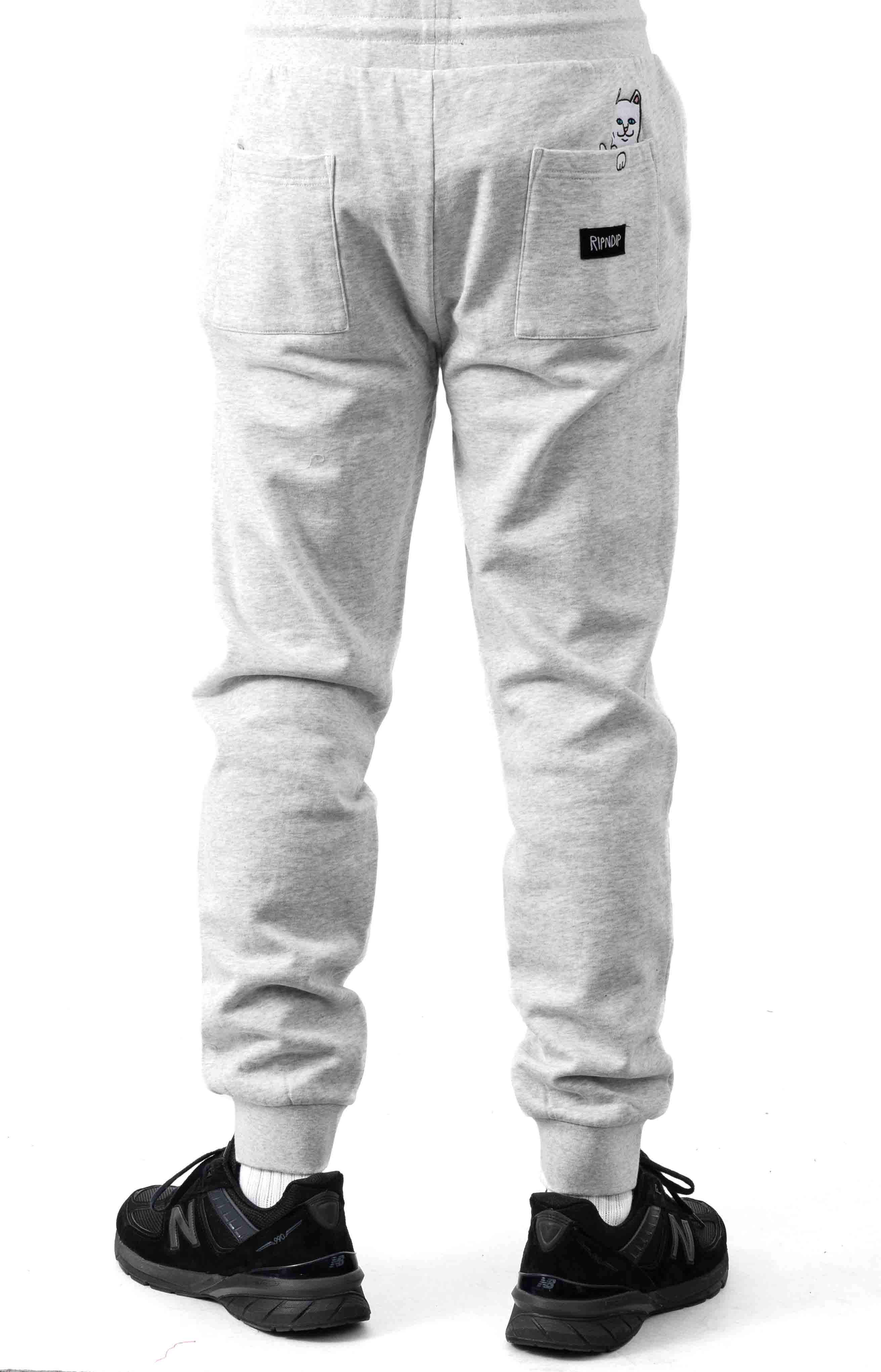 Peeking Nerm Sweatpants - Heather Grey