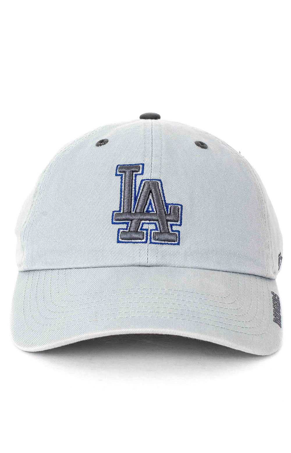Los Angeles Dodgers 47 Clean Up Cap - Storm Ice  2