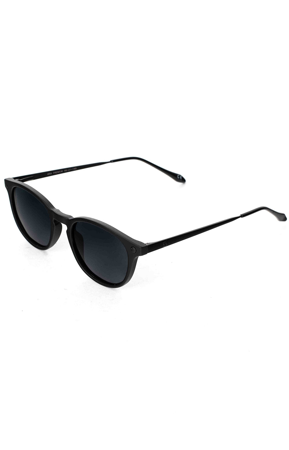 Aria Sunglasses - Matte Back Polarized