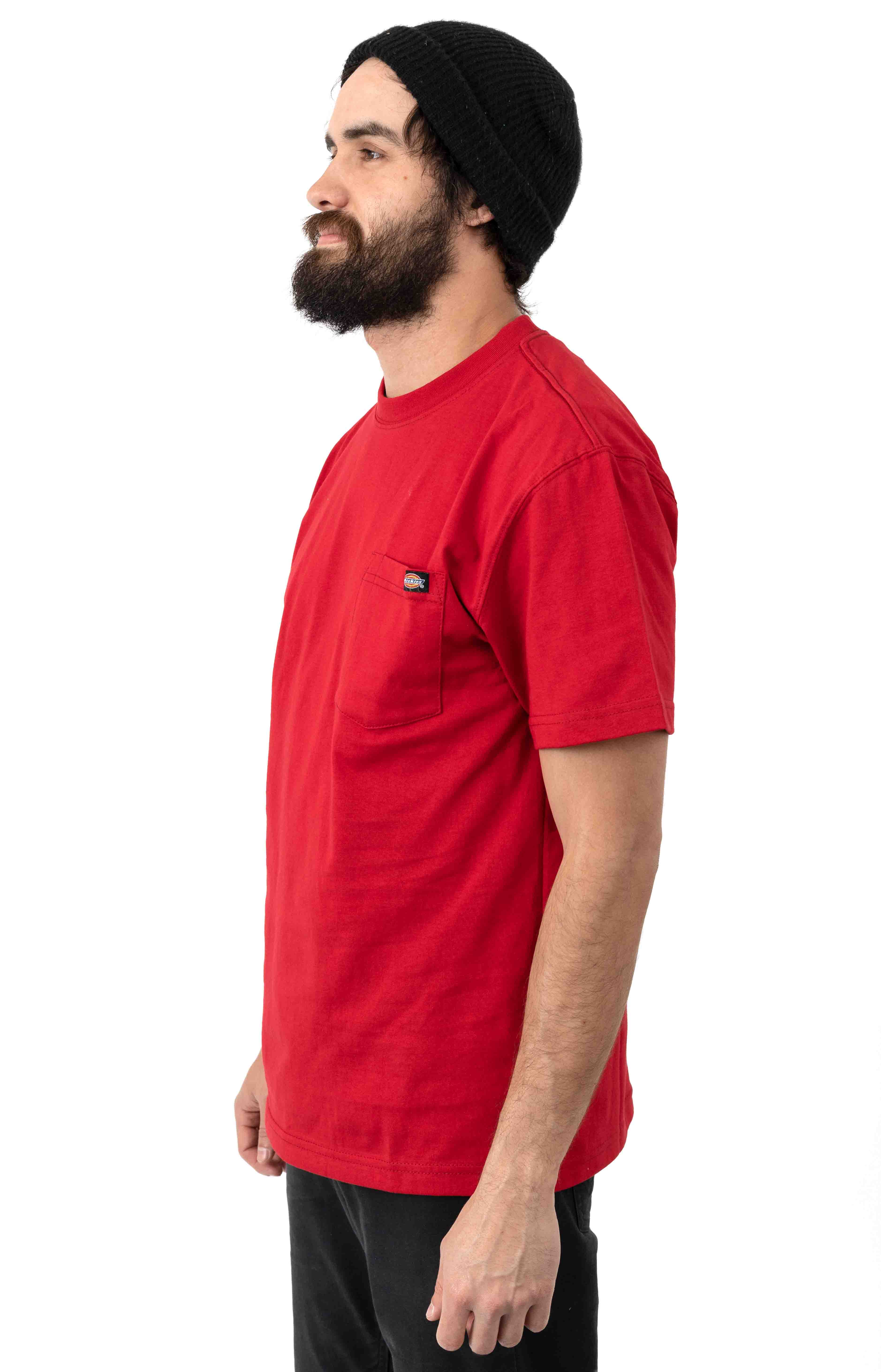 (WS450ER) S/S Heavyweight T-Shirt - English Red 2