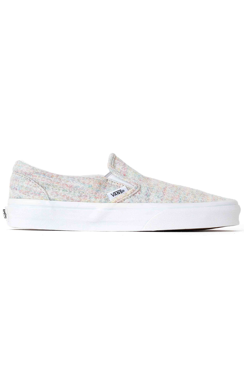 (U38WN%) Rainbow Jersey Classic Slip-On Shoe - Bit Of Blue