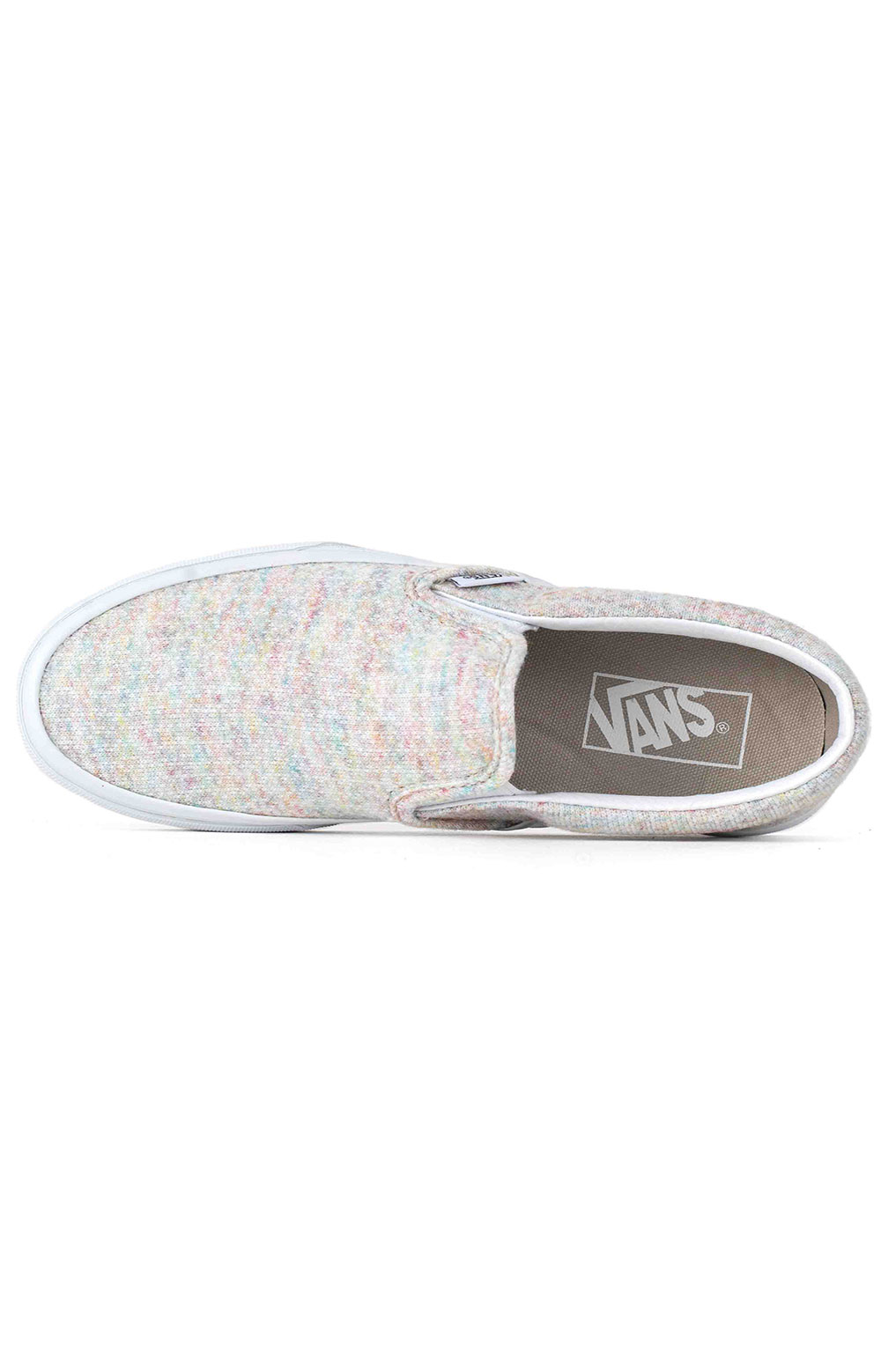 (U38WN%) Rainbow Jersey Classic Slip-On Shoe - Bit Of Blue  3