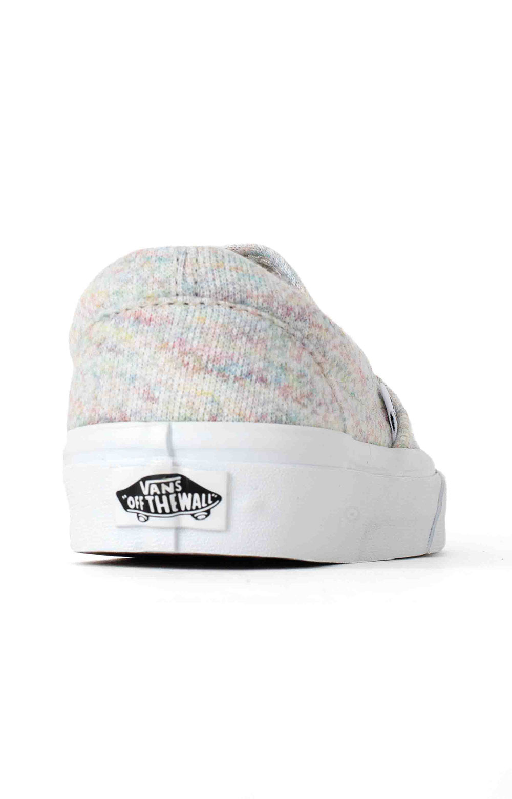 (U38WN%) Rainbow Jersey Classic Slip-On Shoe - Bit Of Blue  5