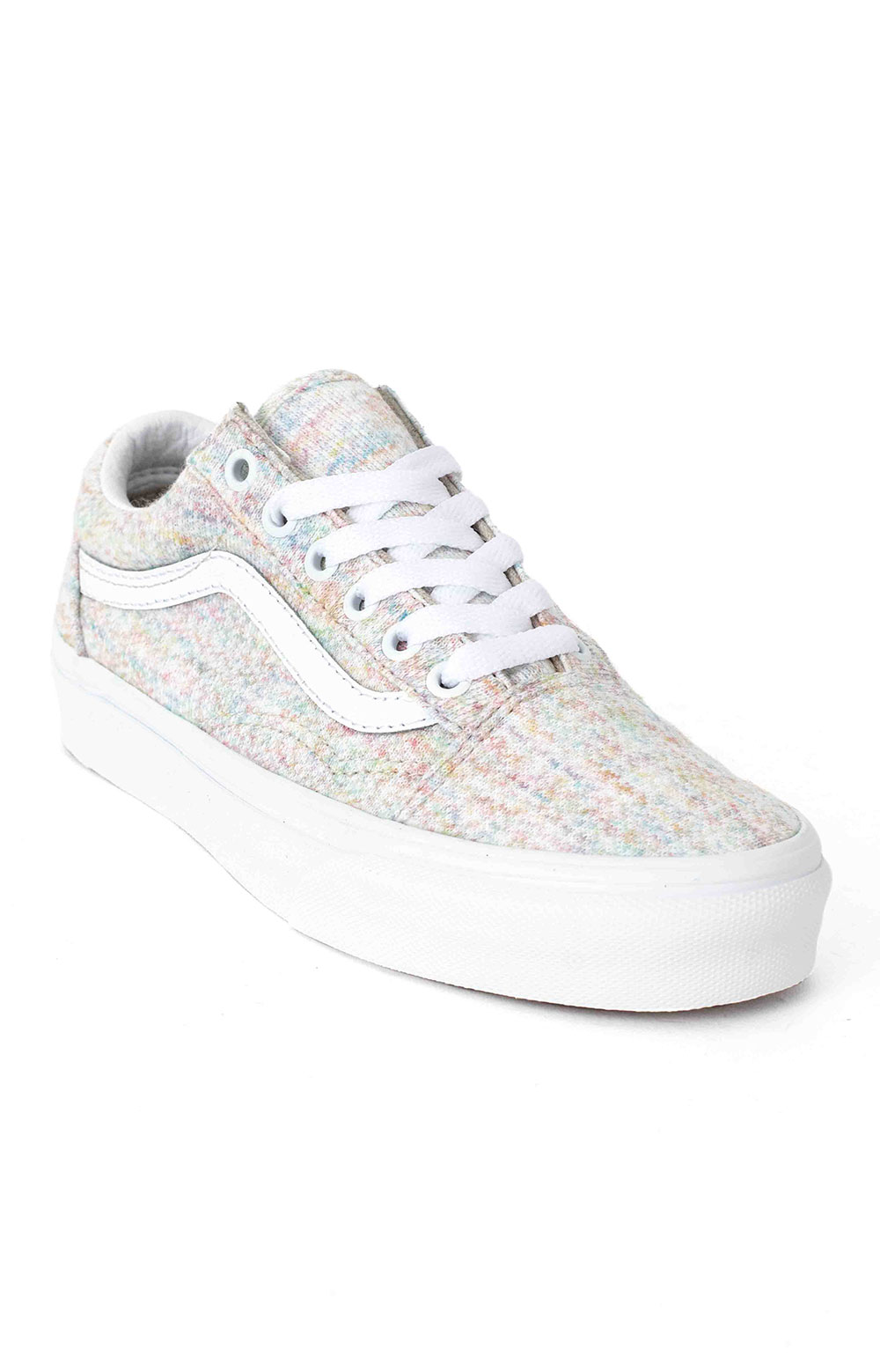 (U3BWN5) Rainbow Jersey Old Skool Shoe - Multi 3