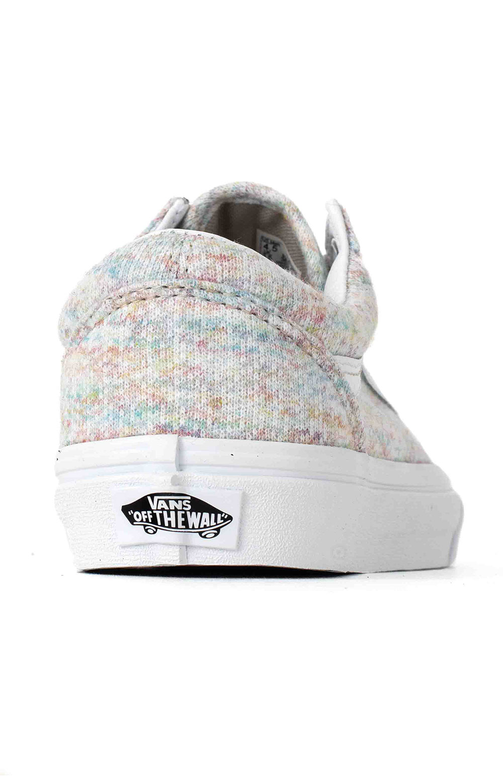 (U3BWN5) Rainbow Jersey Old Skool Shoe - Multi 5