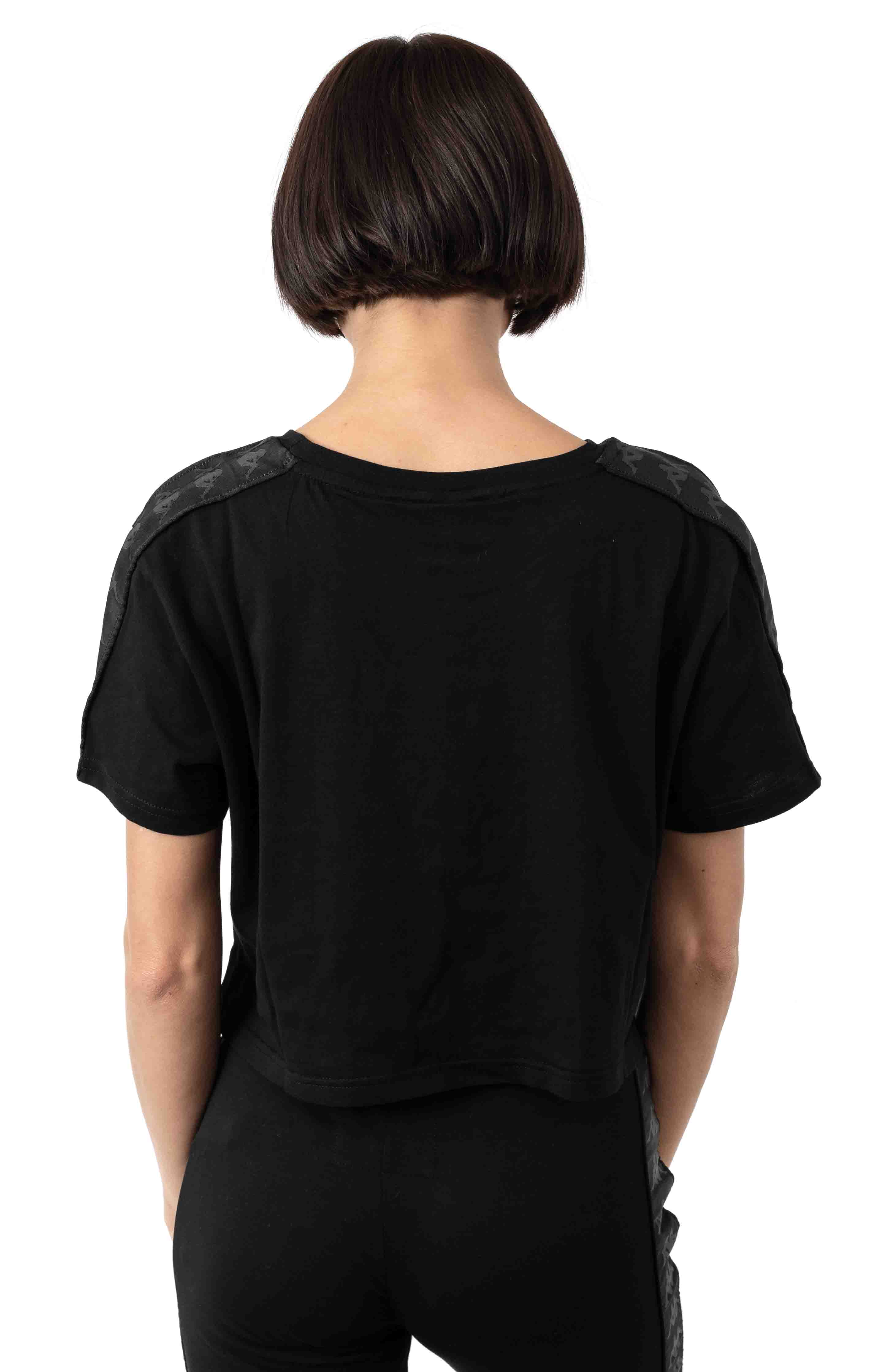 222 Banda Apua Alternating Banda T-Shirt - Black 3