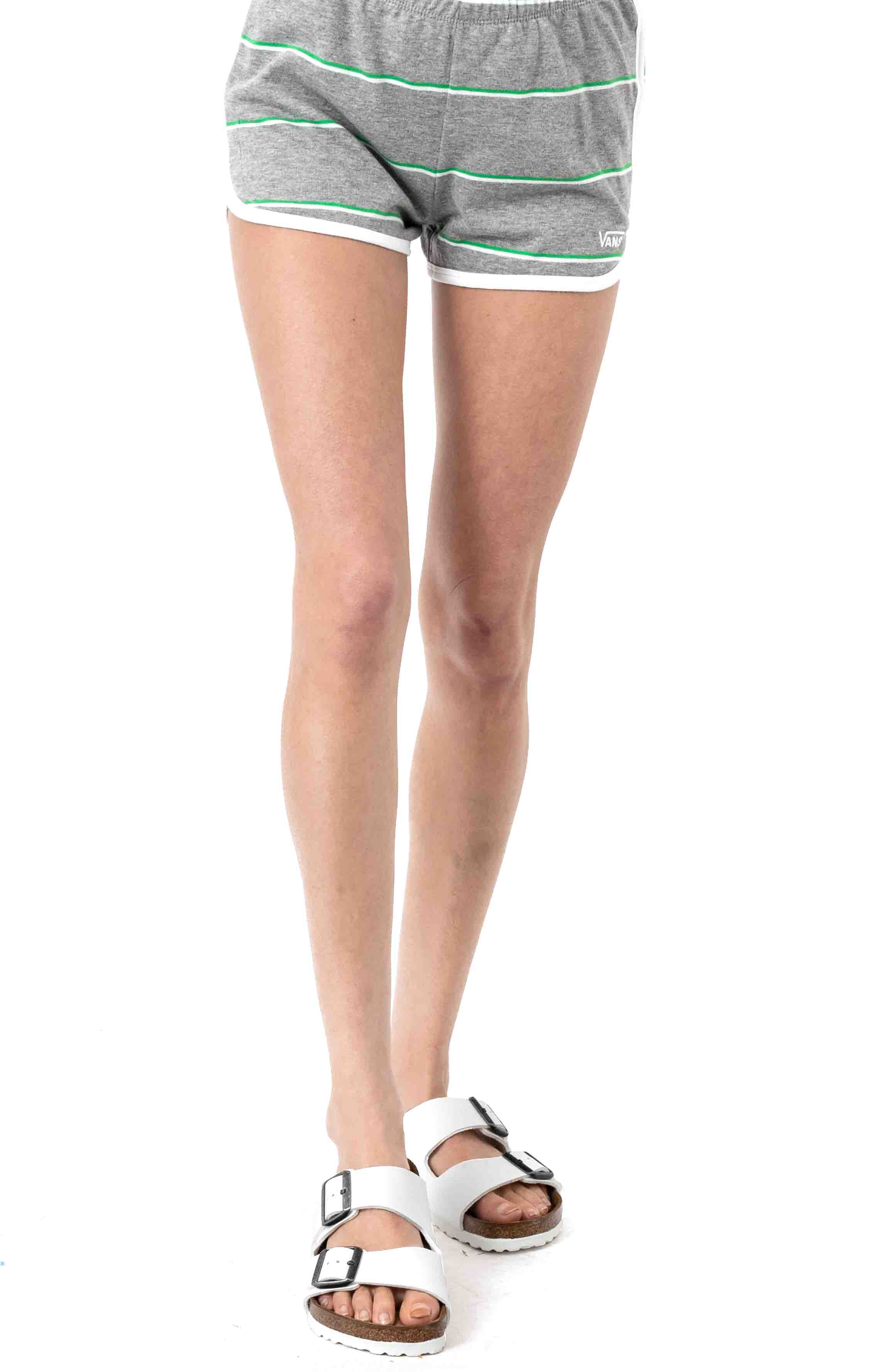 Lineation Shorts-Grey Heather 2