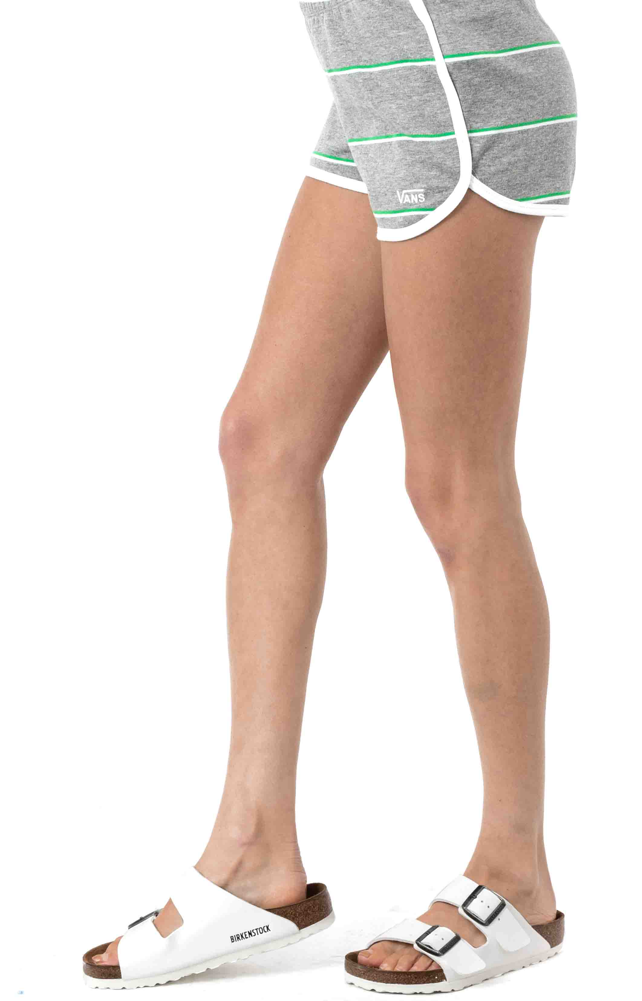 Lineation Shorts-Grey Heather