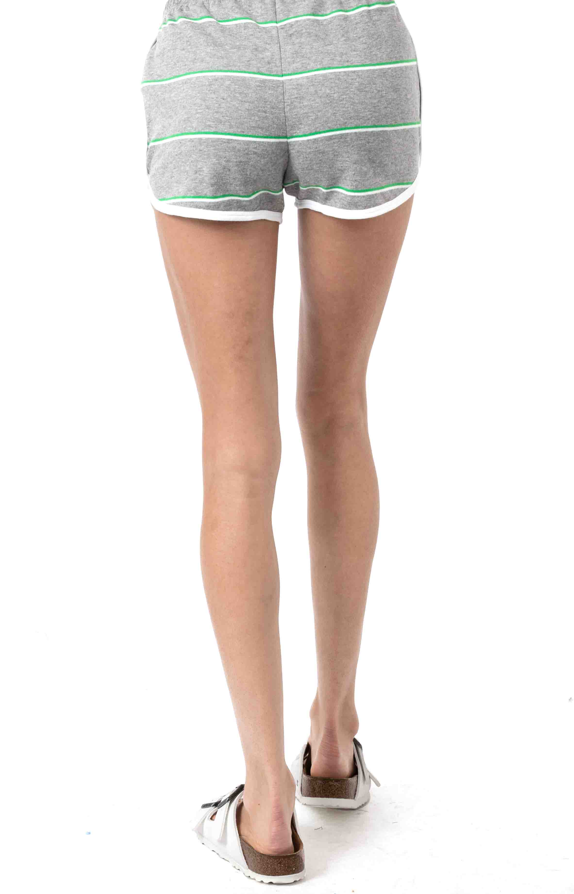 Lineation Shorts-Grey Heather 3