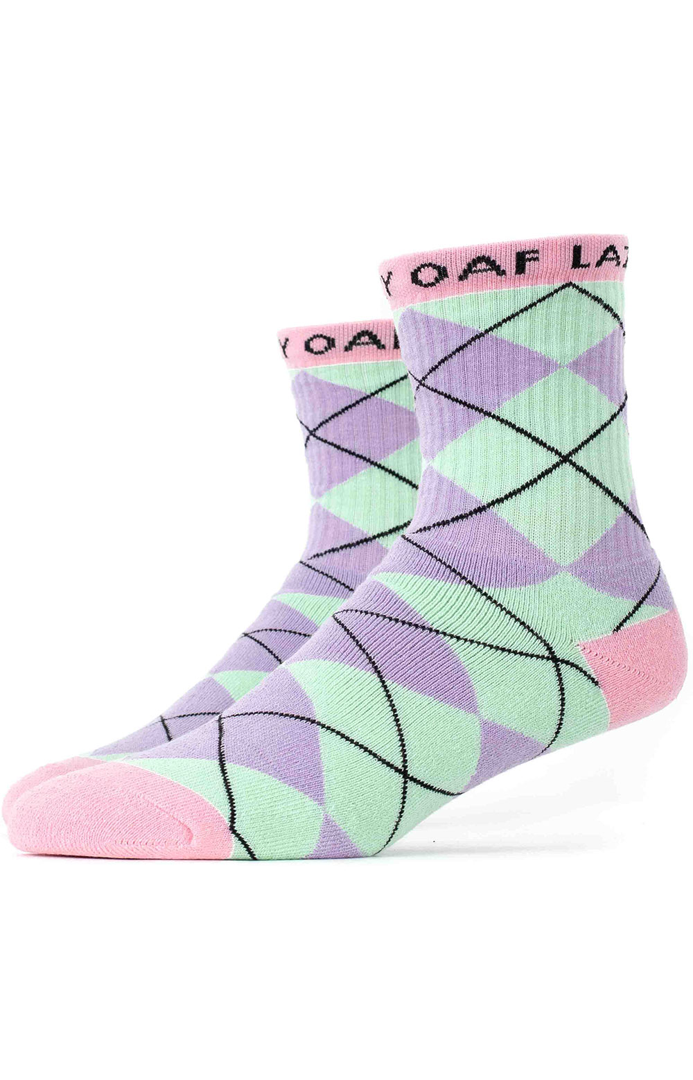 Lazy Argyle Socks