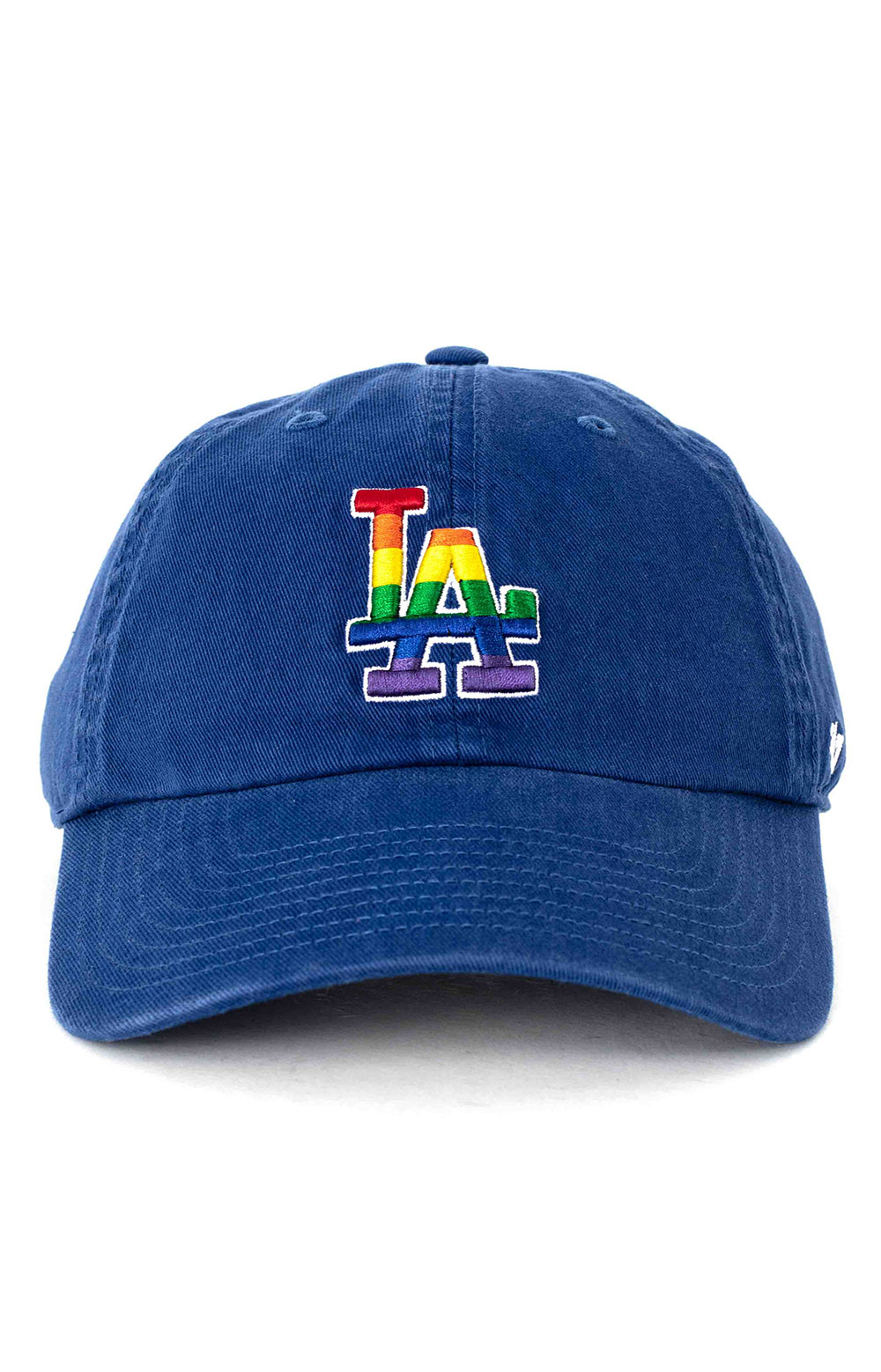 LA Dodgers Pride 47 Clean Up Cap - Royal Blue 2