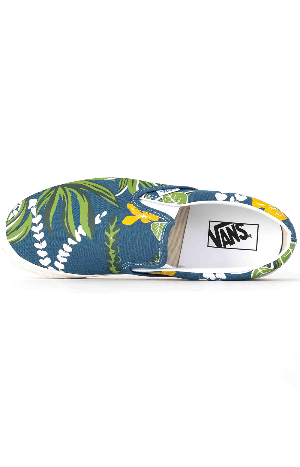 (JEXWVQ) Anaheim Factory Classic Slip-On 98 DX Shoes - OG Aloha Navy 2