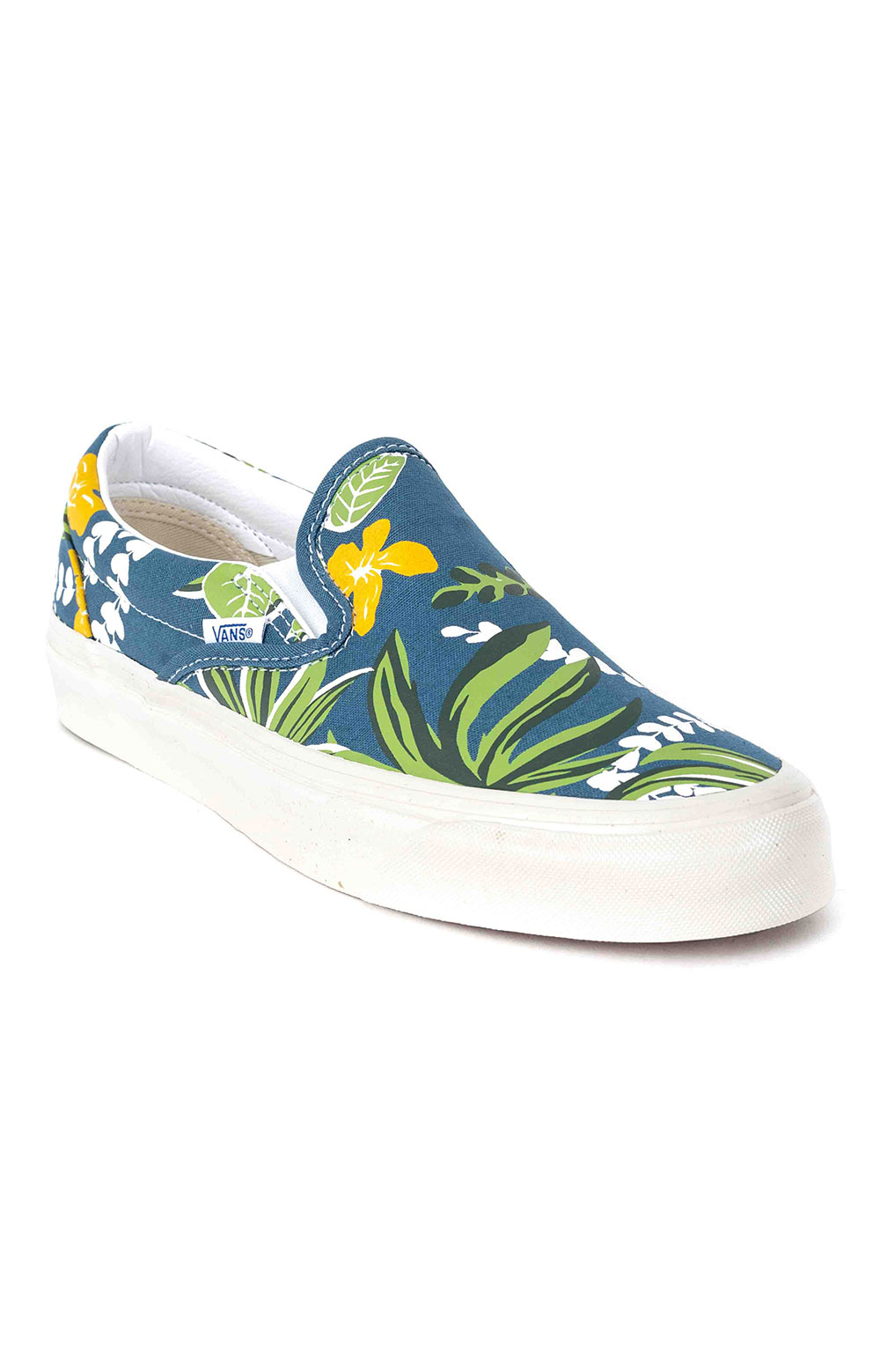 (JEXWVQ) Anaheim Factory Classic Slip-On 98 DX Shoes - OG Aloha Navy 3