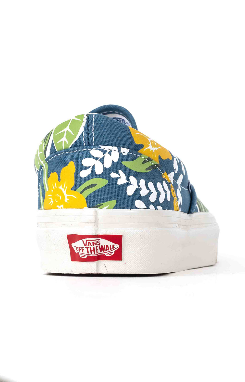 (JEXWVQ) Anaheim Factory Classic Slip-On 98 DX Shoes - OG Aloha Navy 5