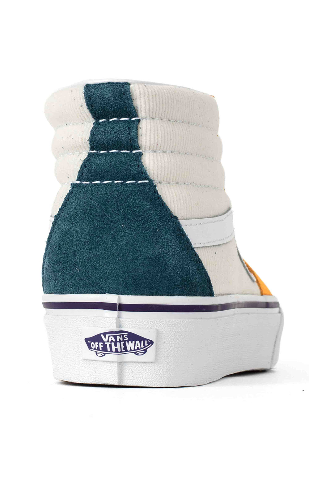 (TKNWVY) Mini Cord SK8-Hi Platform 2 Shoes - Multi/True White  5