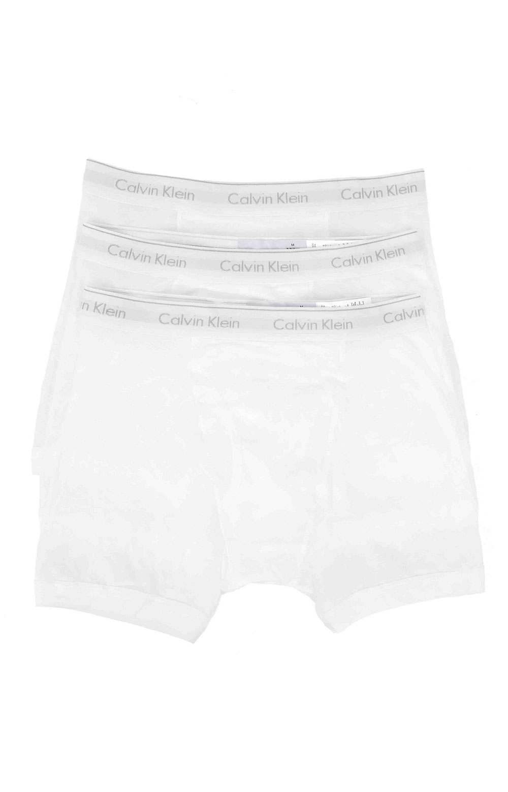 (NB403) Boxer Brief 3 Pack - White