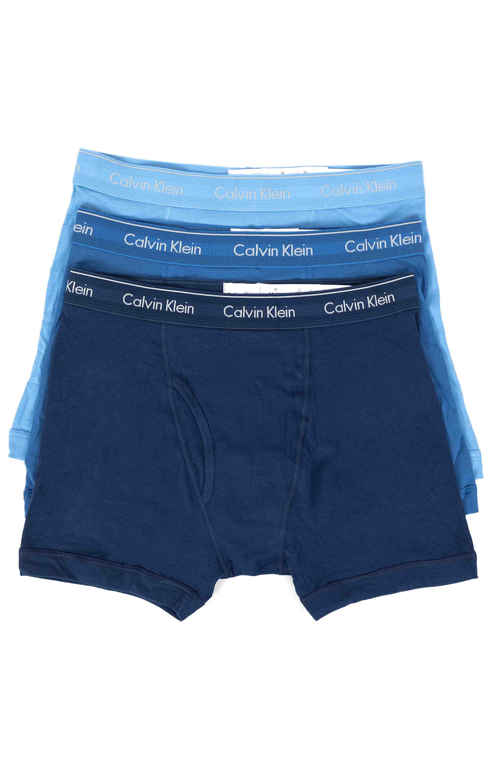 (NB403) Boxer Brief 3 Pack - Blue