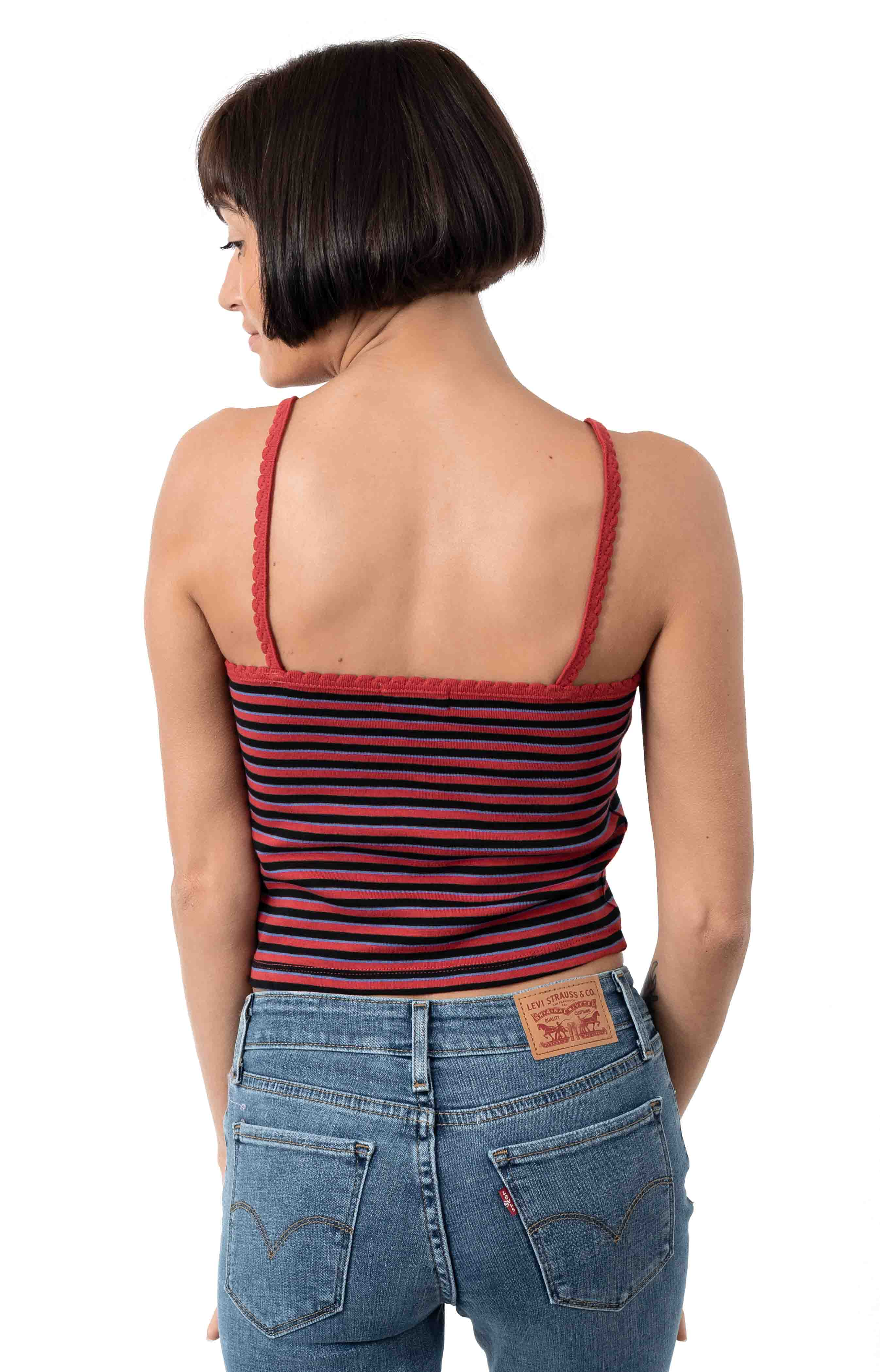 Hilary Tank Top - Lava Red 3