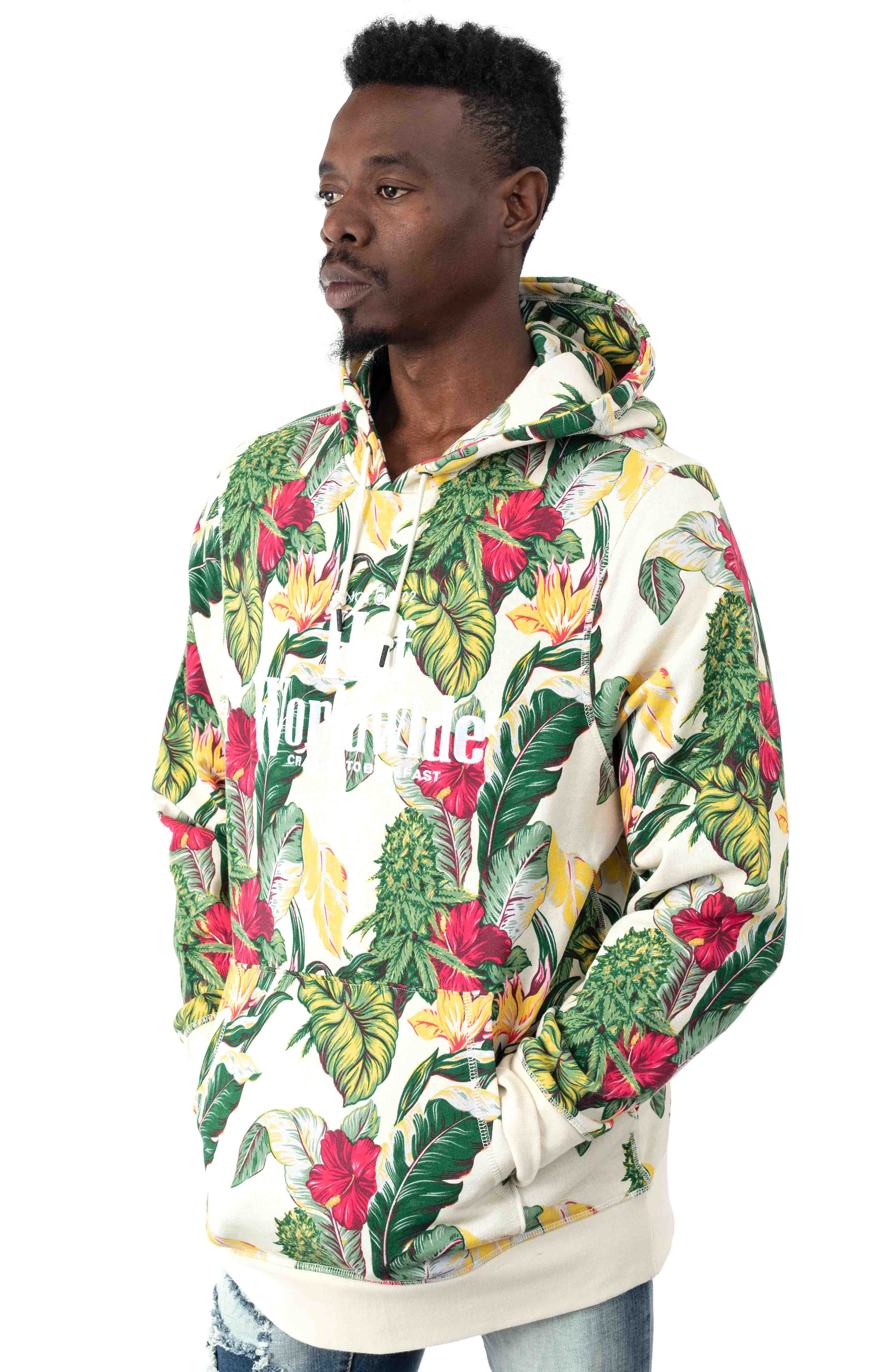 Paraiso Pullover Hoodie - Natural  2